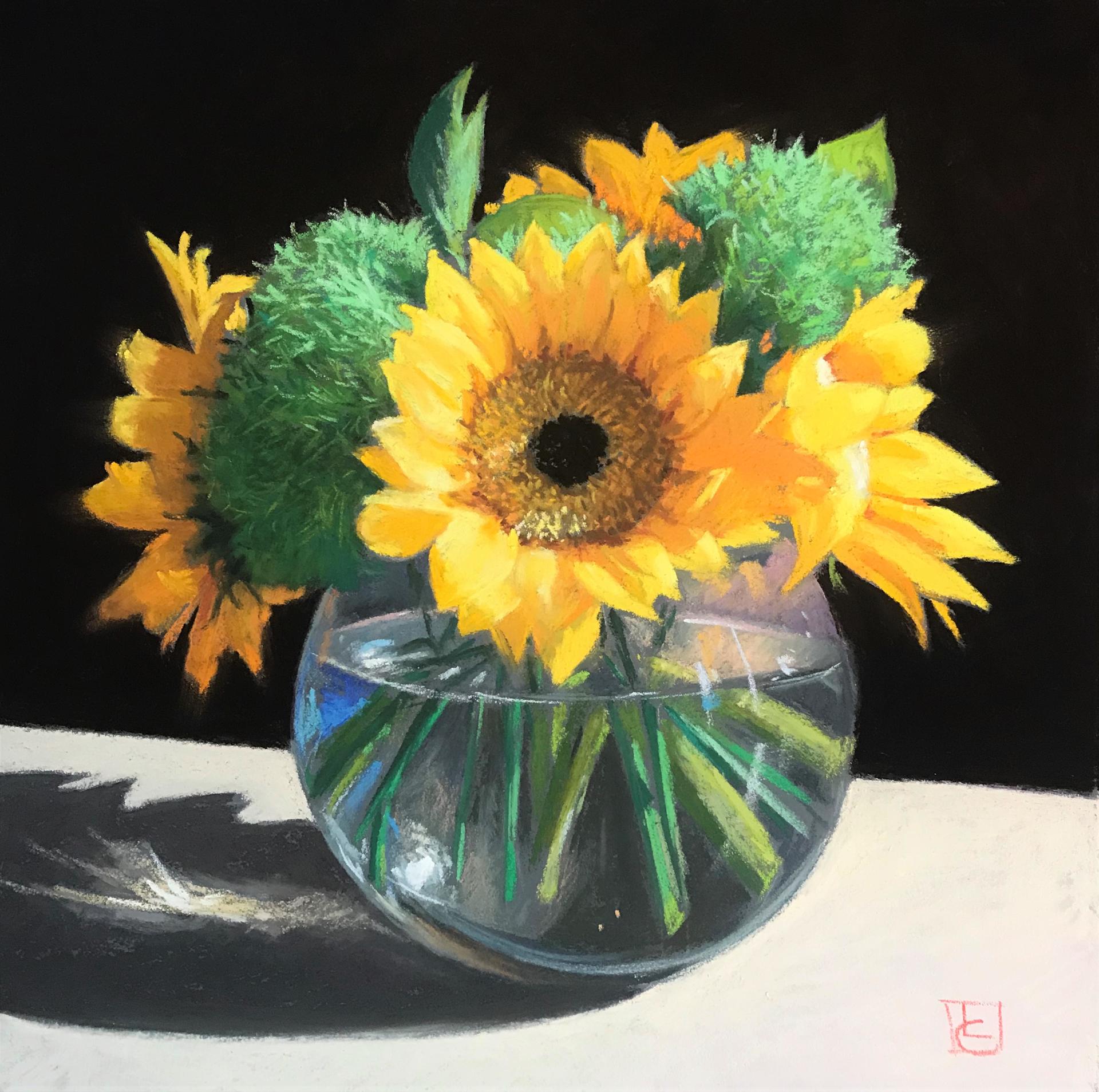 Yellow Sunflowers by Lisa Gleim