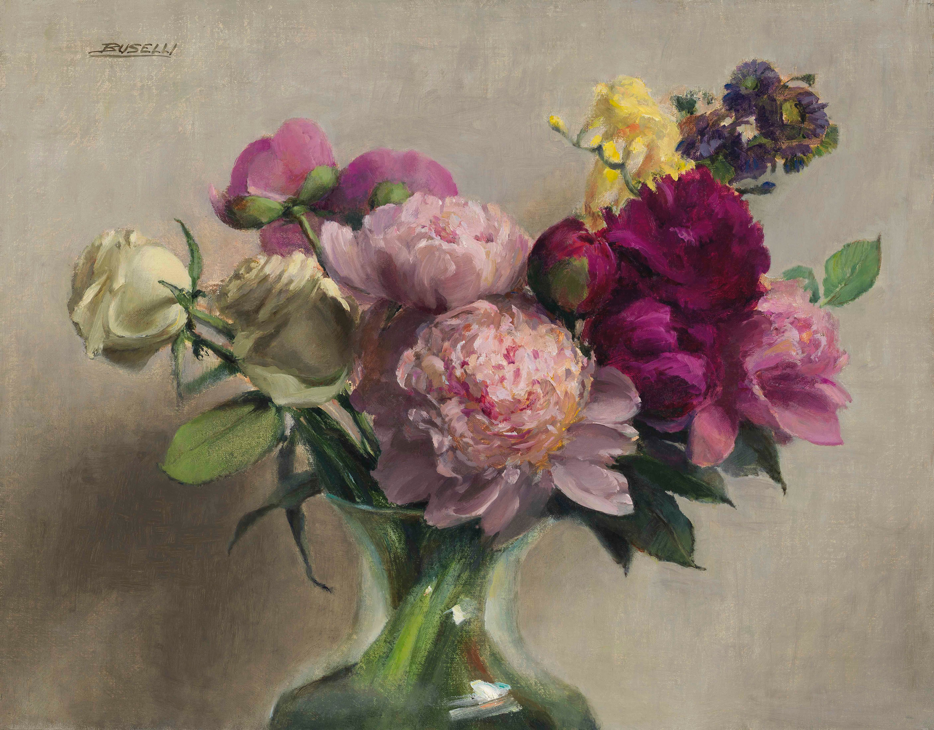 June Flowers by ELLEN BUSELLI, opa
