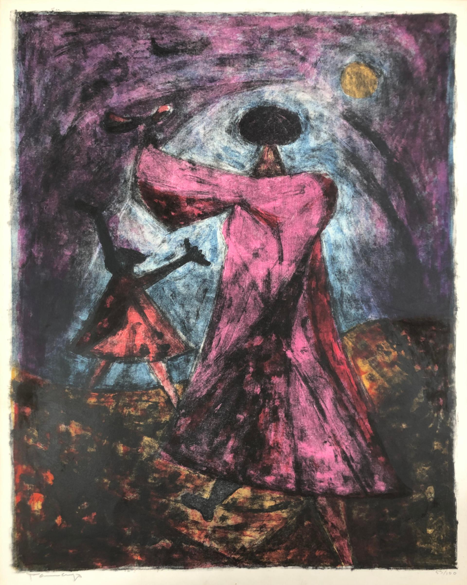 Dos Mujeres by Rufino Tamayo (1899 - 1991)