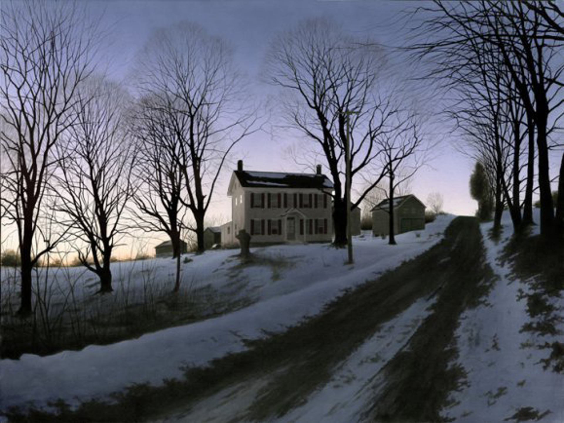Spring Nightfall by Alexander Volkov