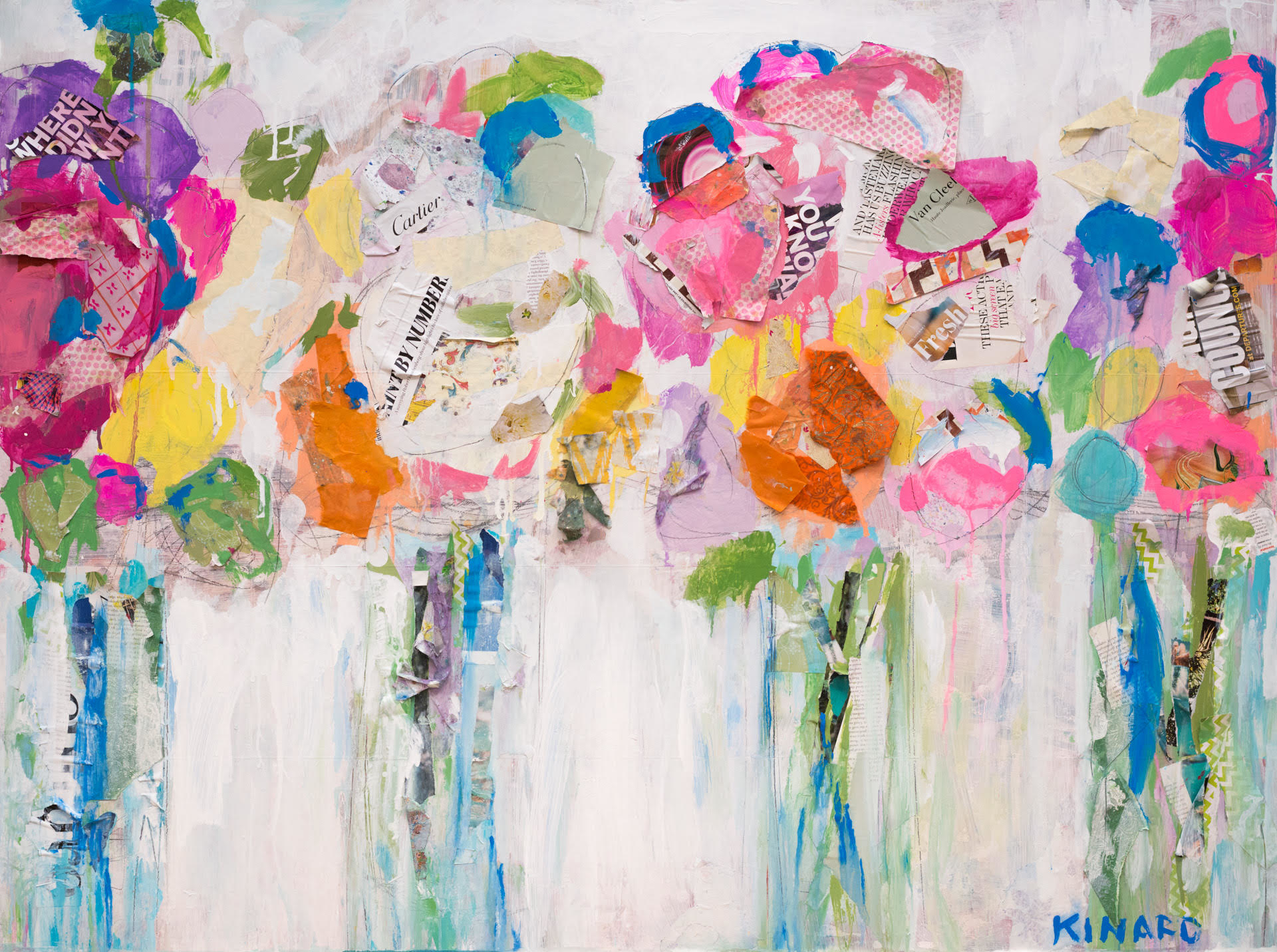Market Flowers by Christy Kinard