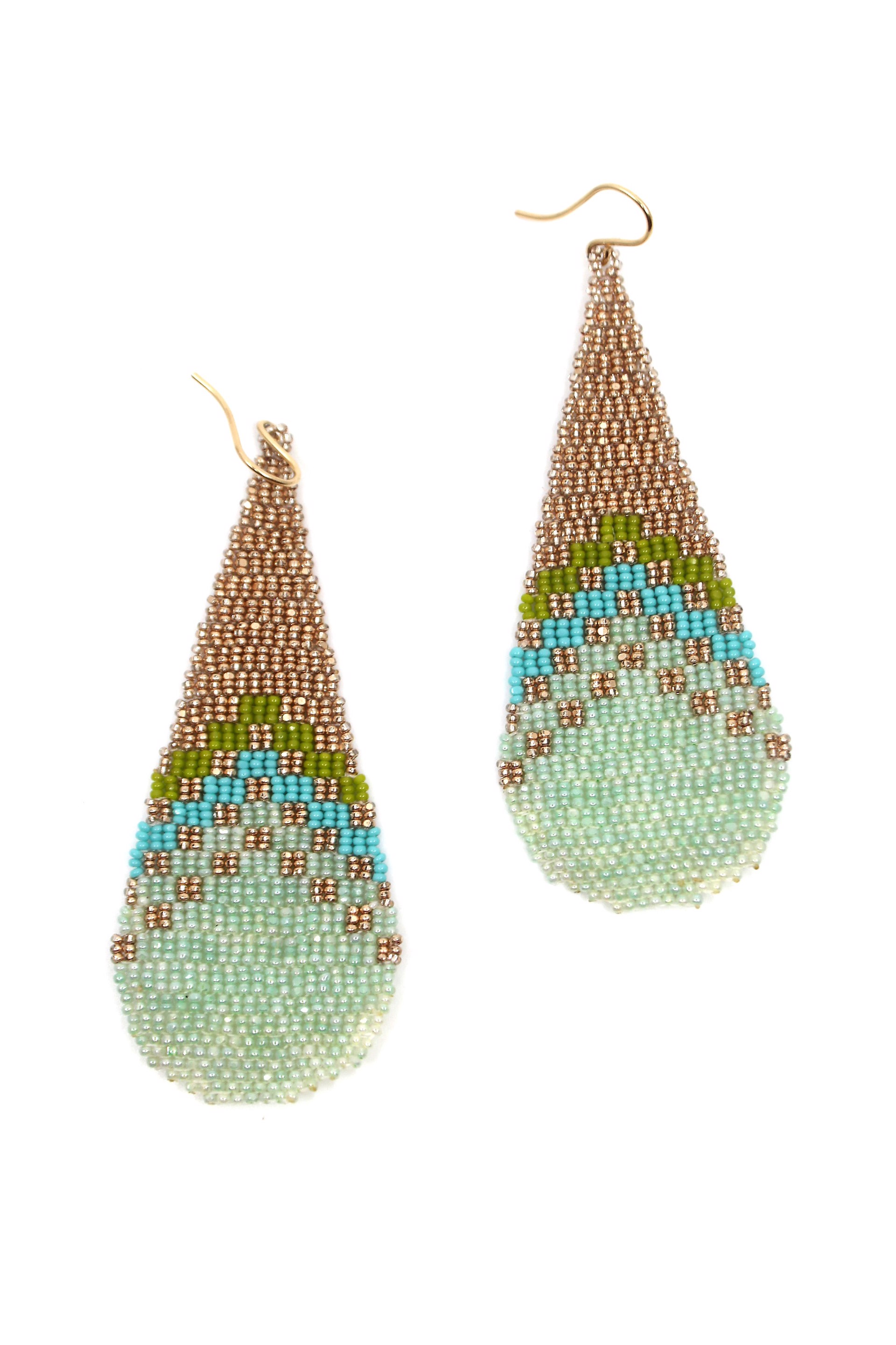 Checkered Earrings by Mikayla Patton