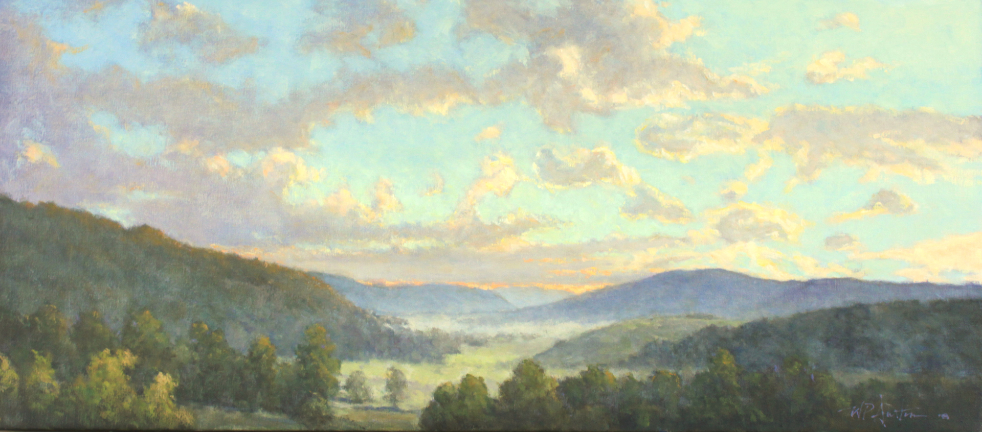Valley Mist by Perry Austin