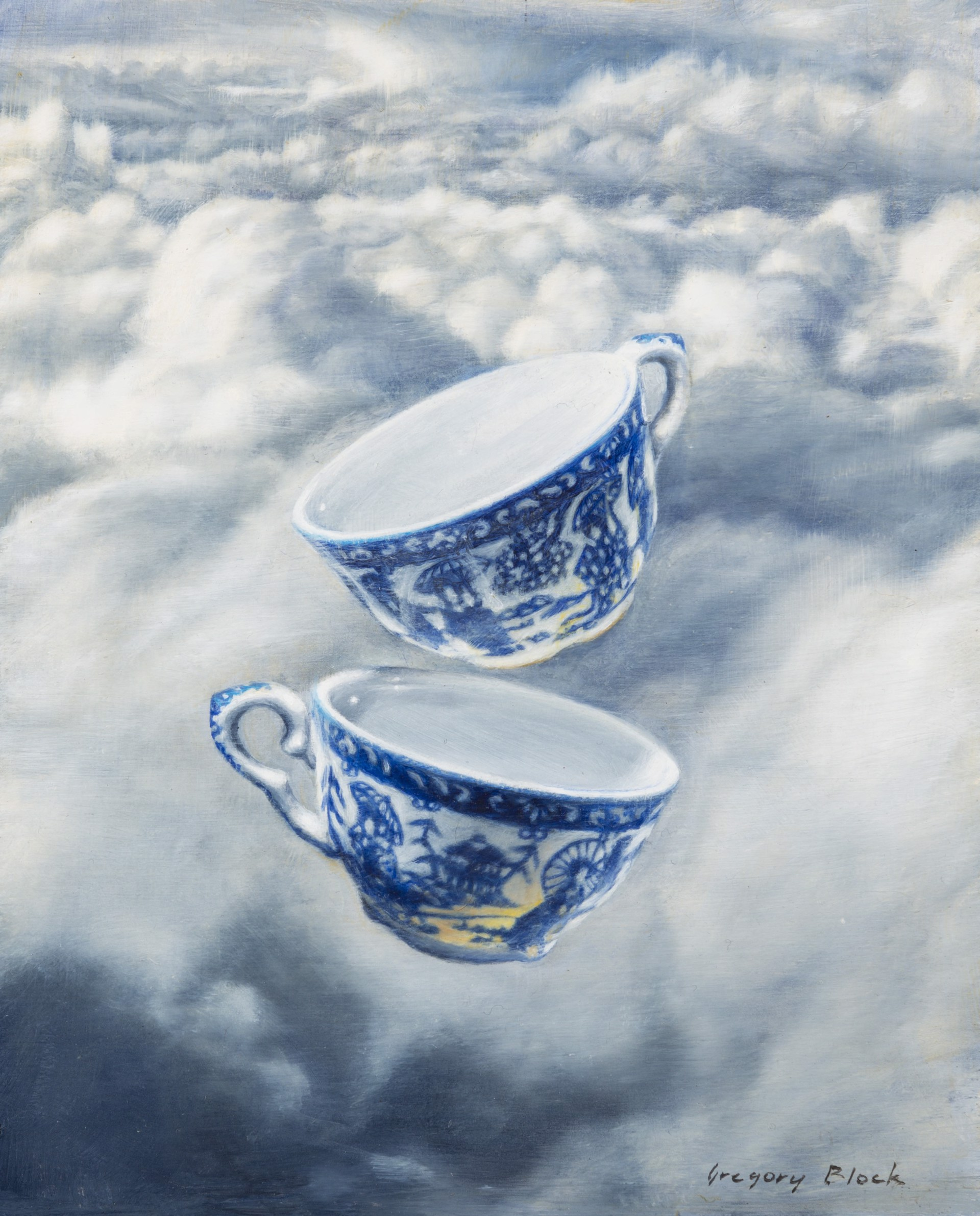 Teacups by Gregory Block