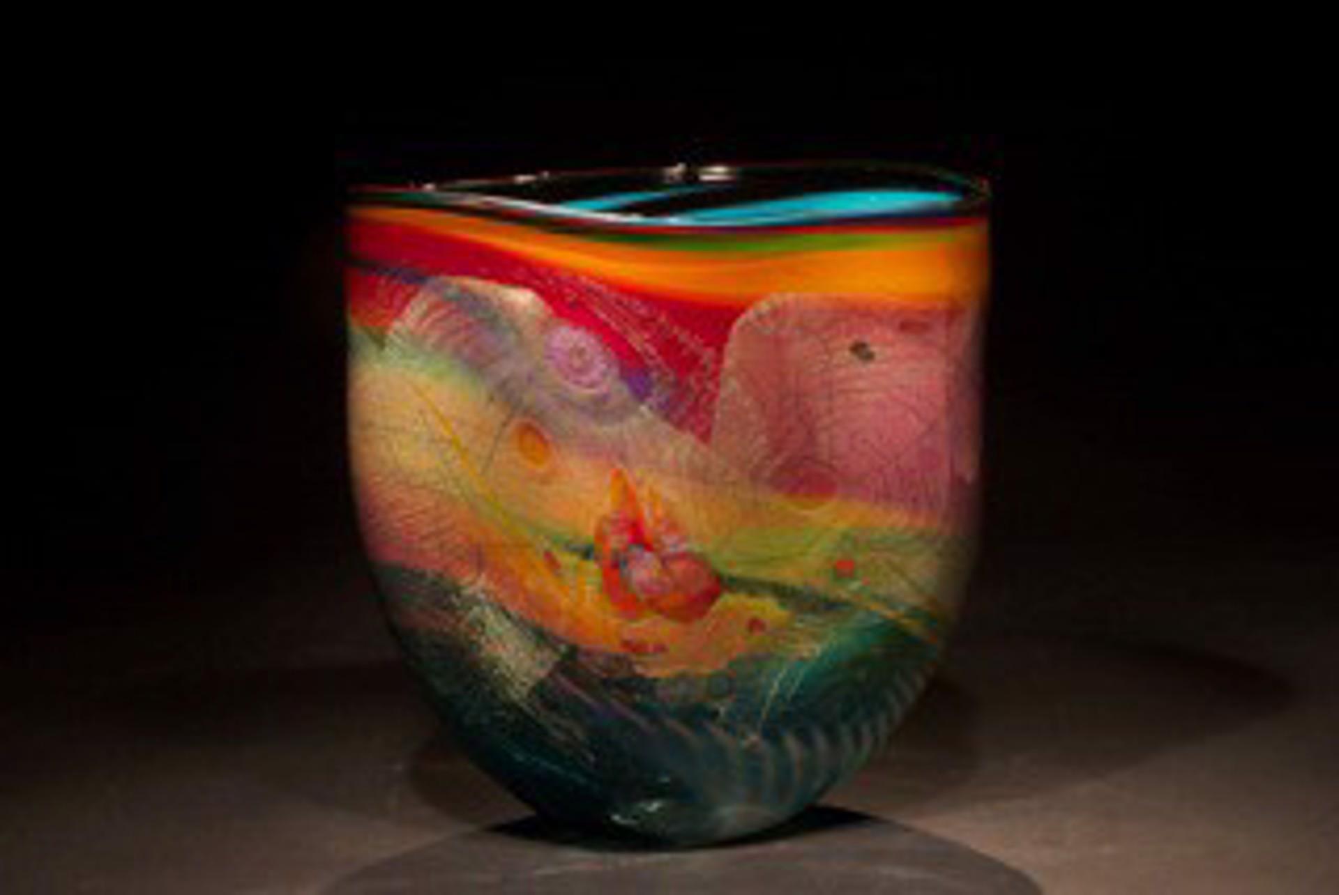Sunset Vase by Chris Hawthorne