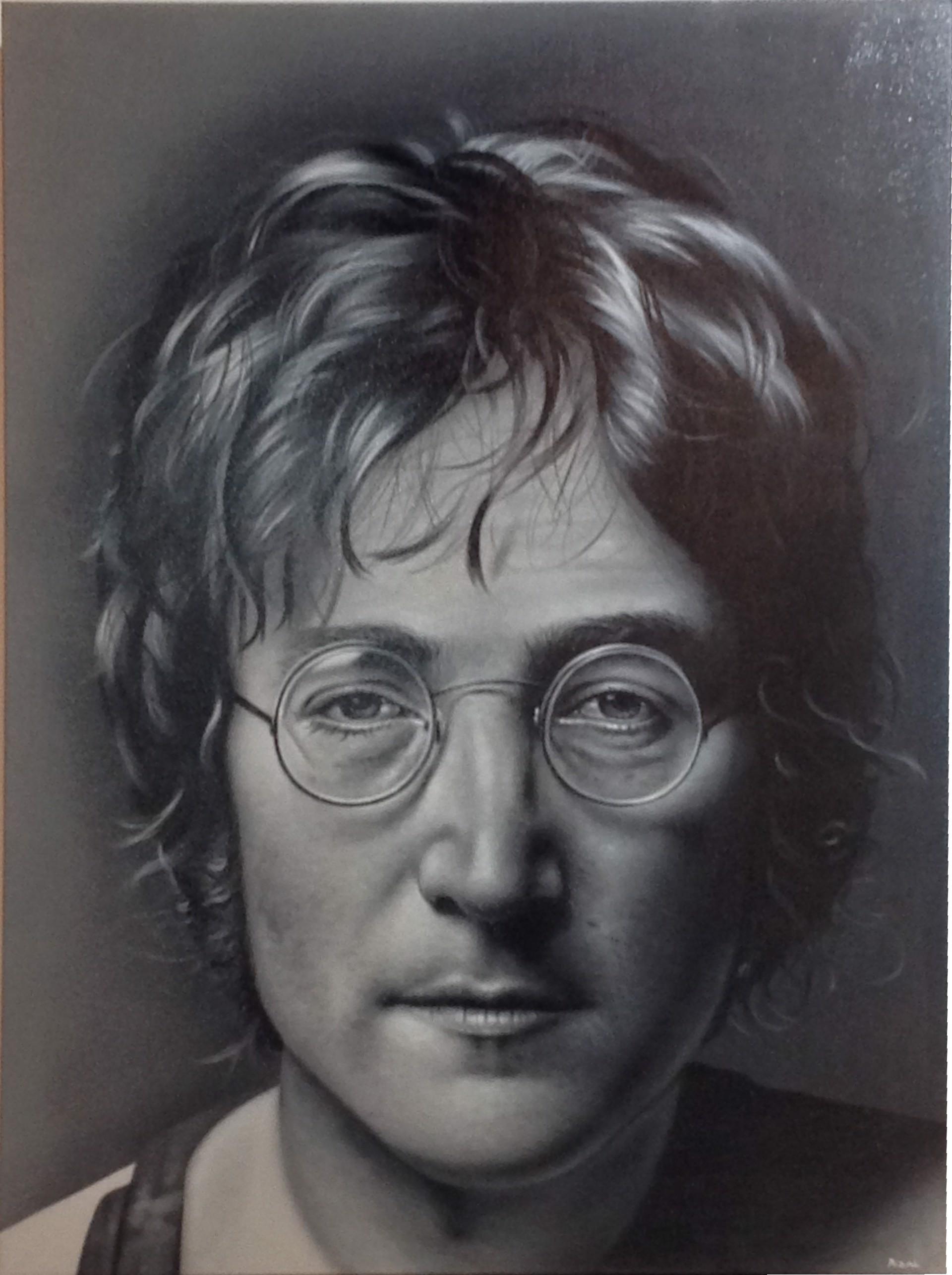 """Celebrity Series"" John Lennon by Ismed Rizal"