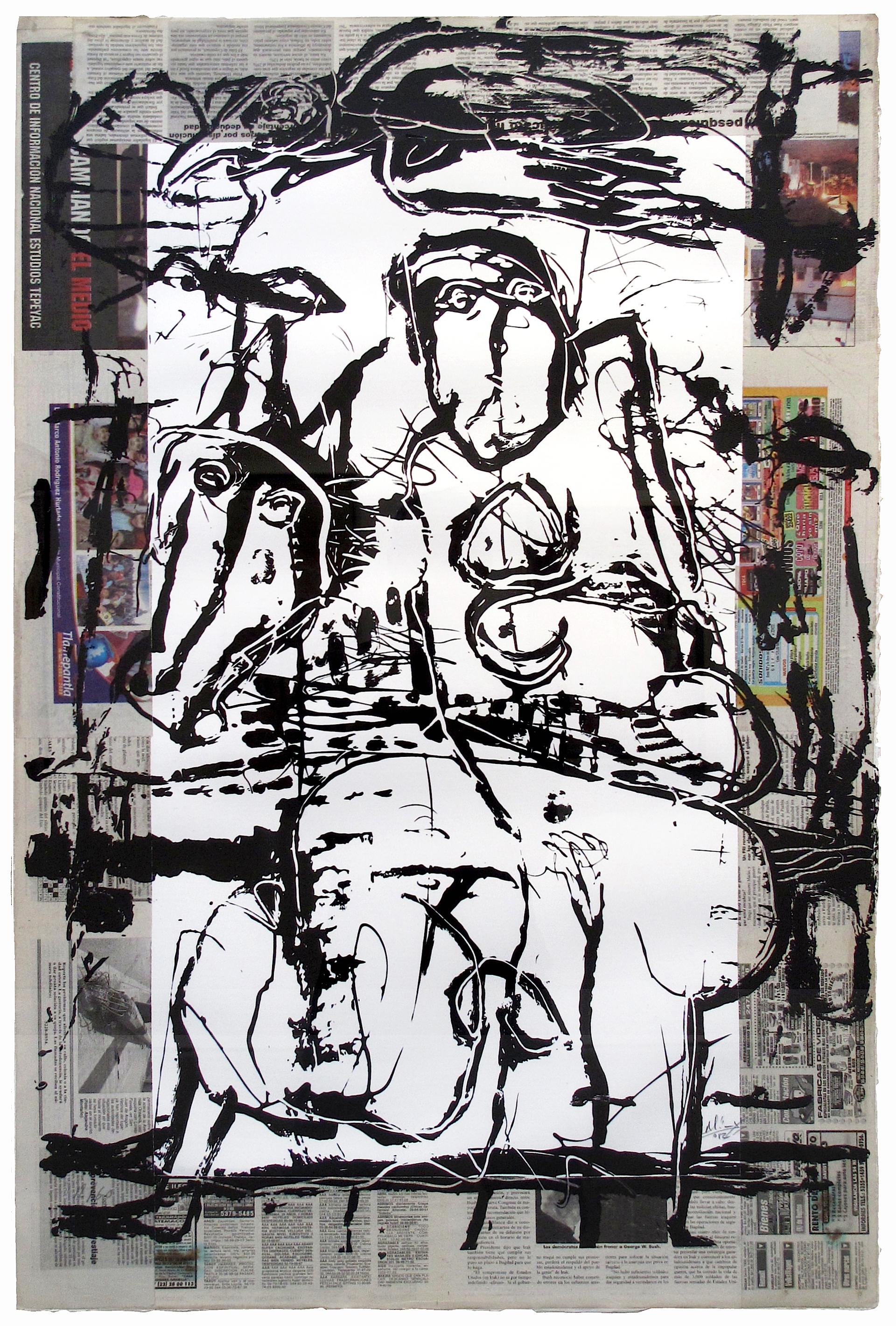 Untitled (Rejoneador) by Alejandro Santiago