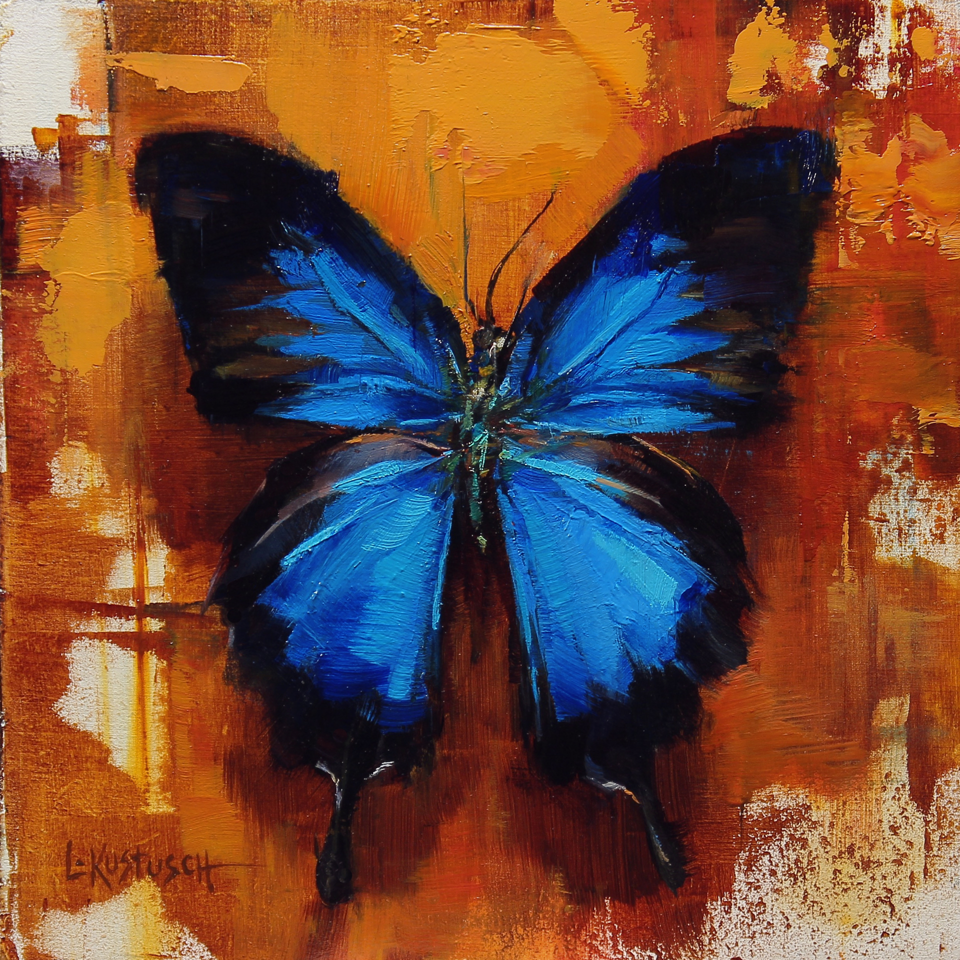 The Ulysses Butterfly by Lindsey Kustusch