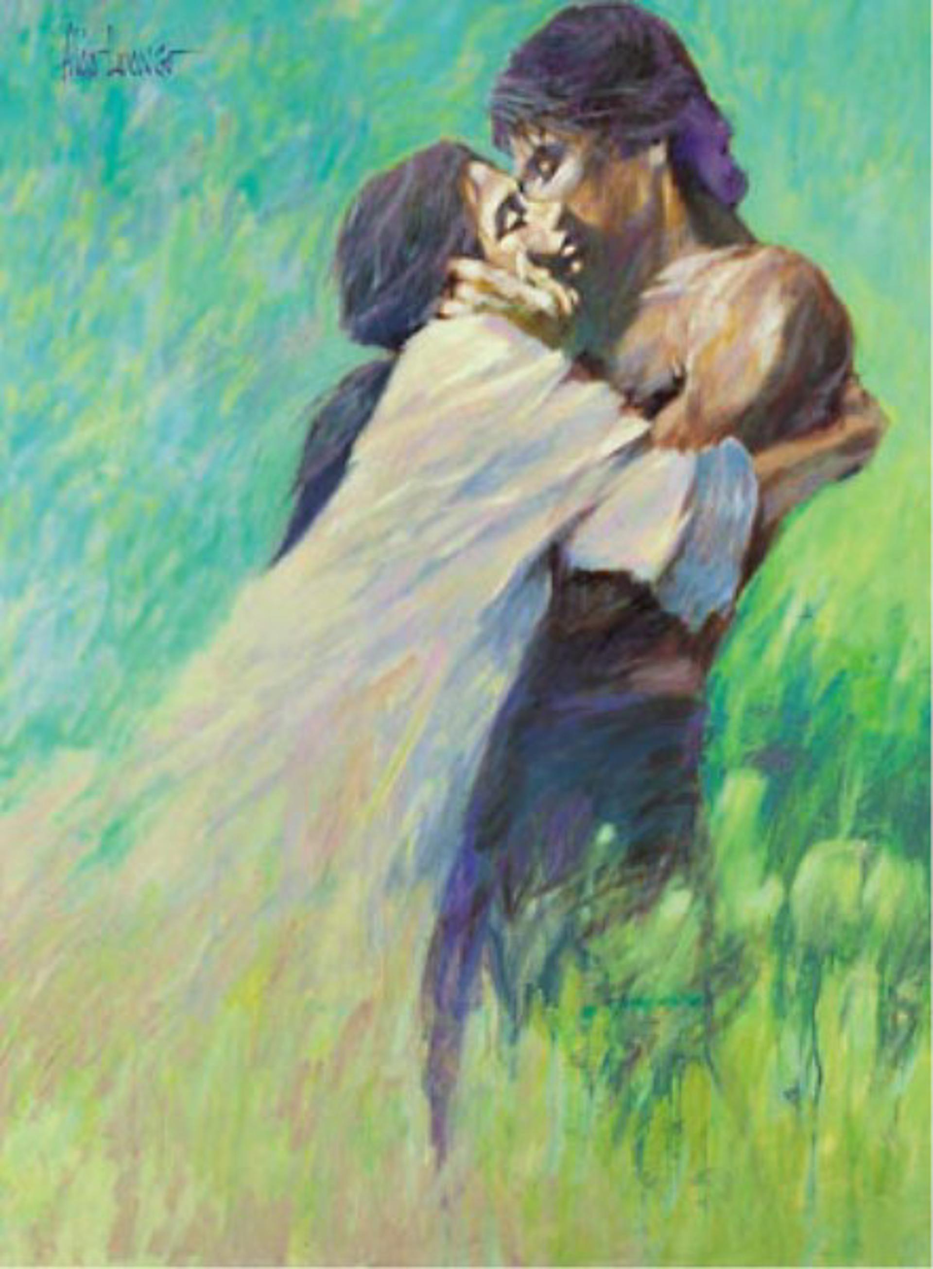 My Soft Purple Dream by Aldo Luongo