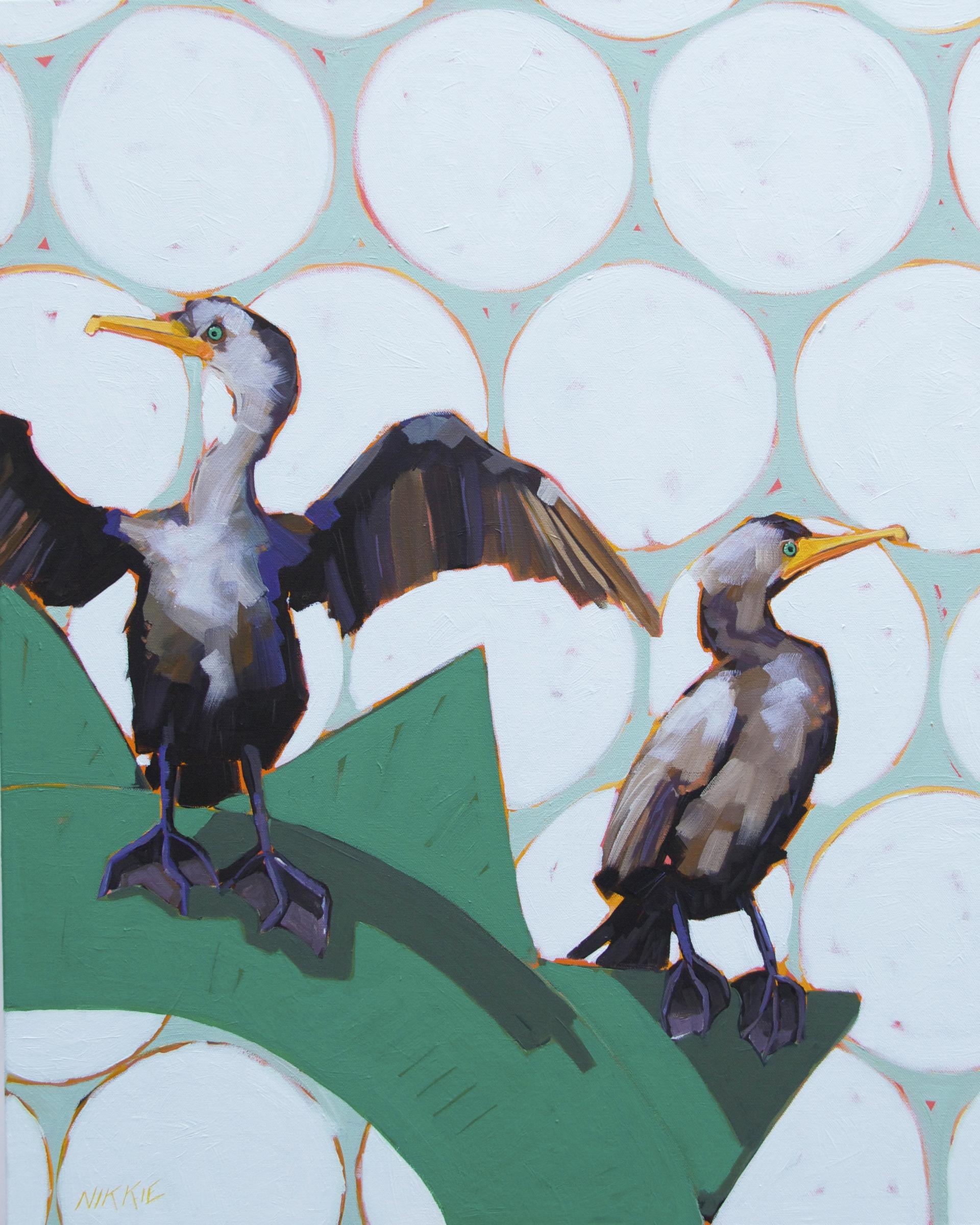 Cormorants by Nikkie Markle