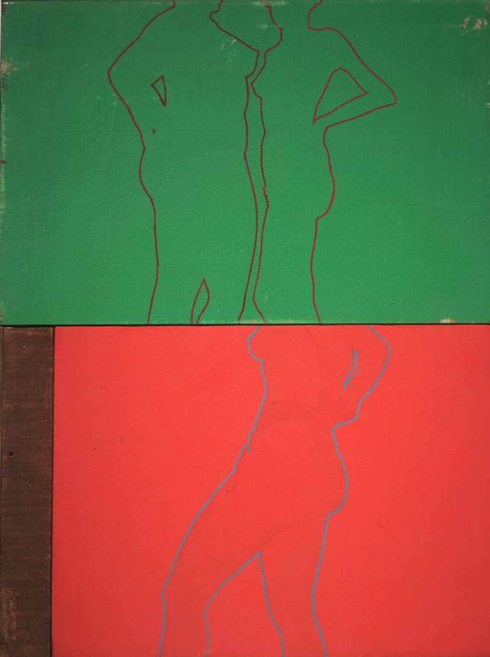 Untitled (Diptych) by David Chapin