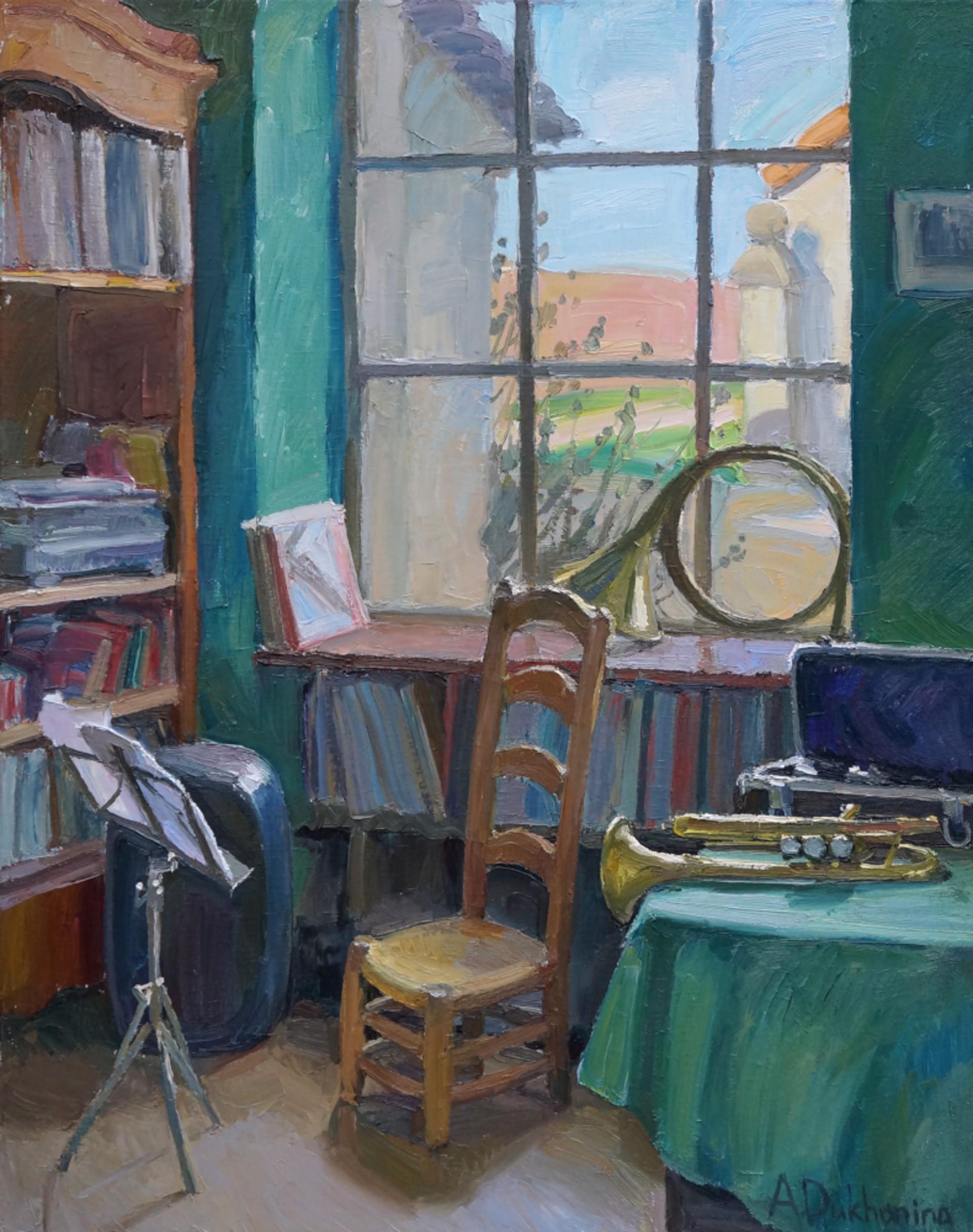 Silence by Anastasia Dukhanina