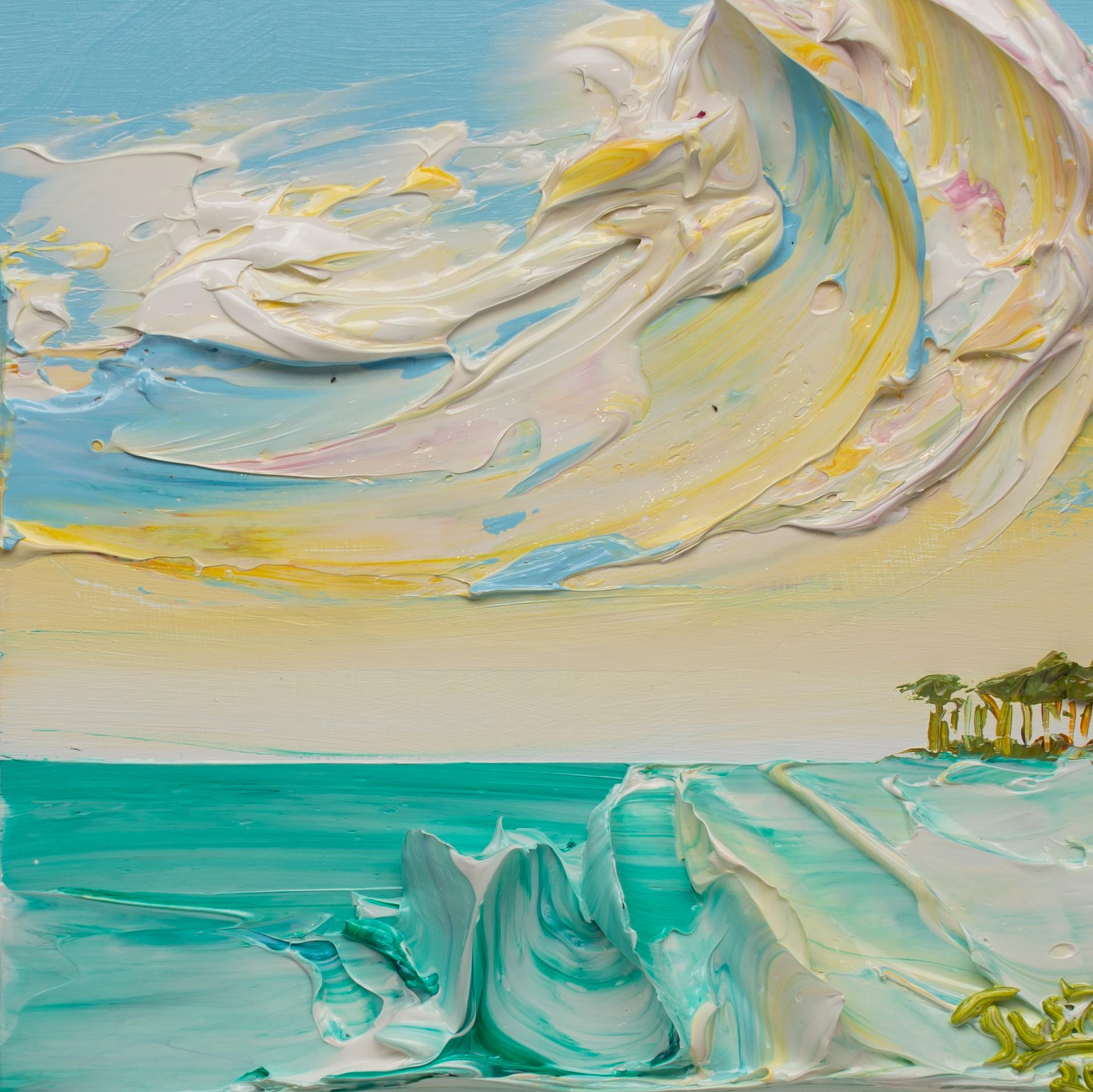 SEASCAPE SS-12x12-2020-069 by JUSTIN GAFFREY