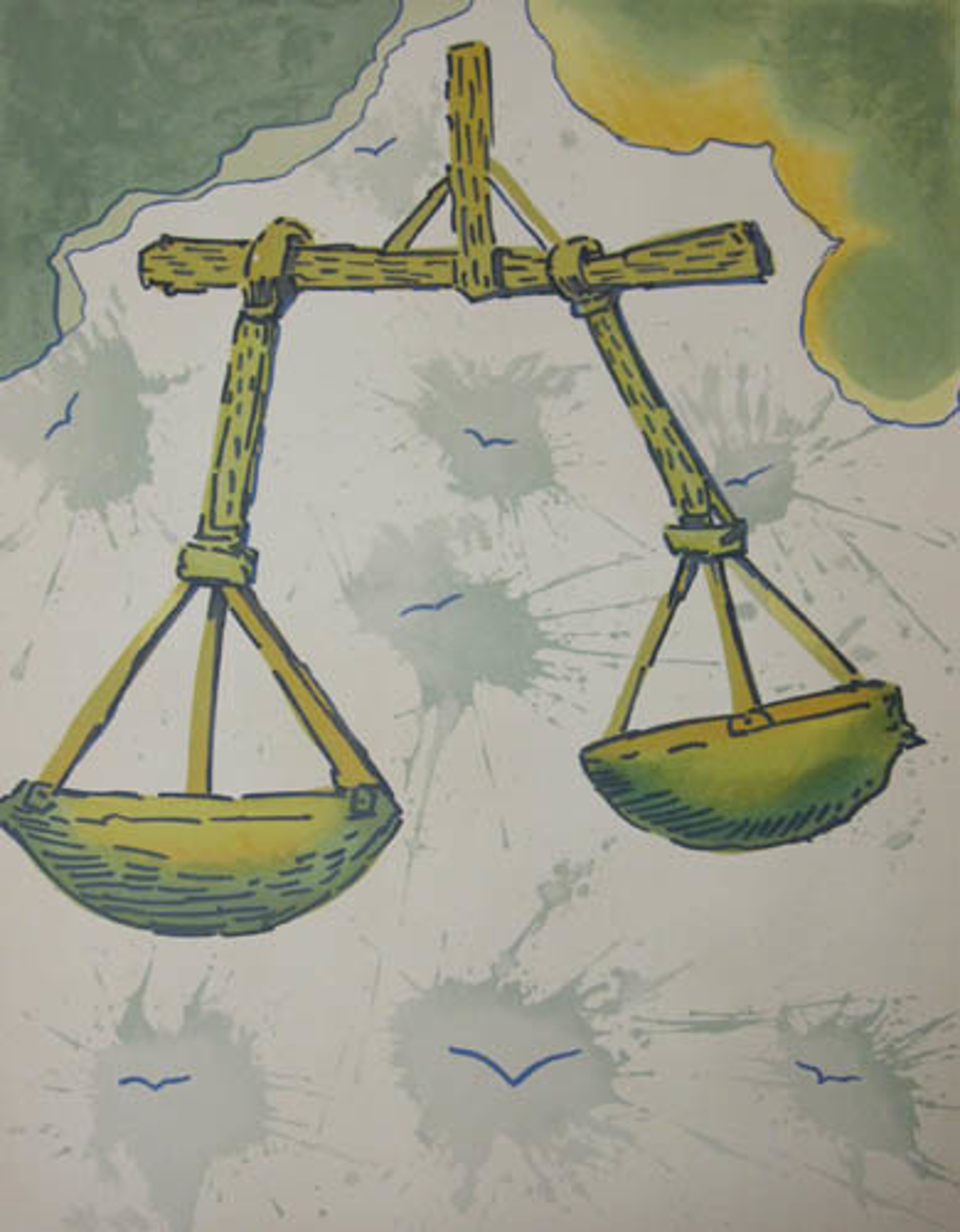 Libra From Signs of the Zodiac Series by Salvador Dali