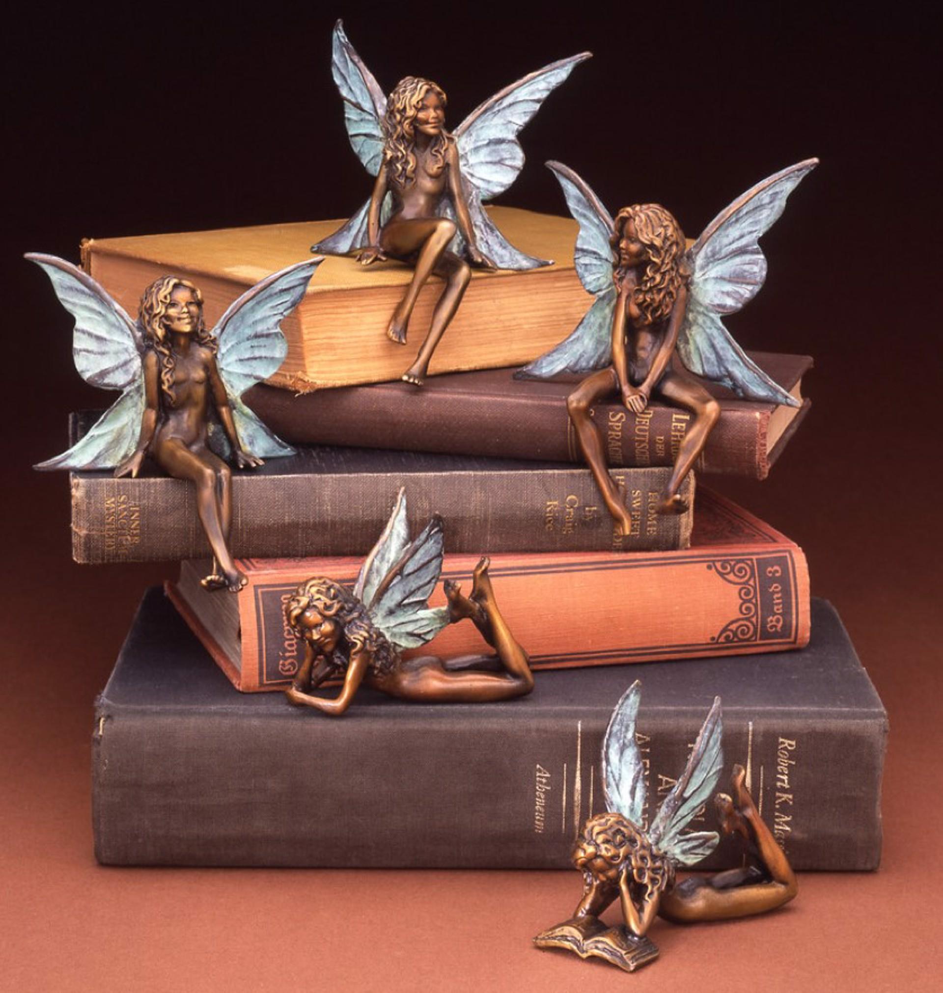 Fairy On Belly by Star Liana York