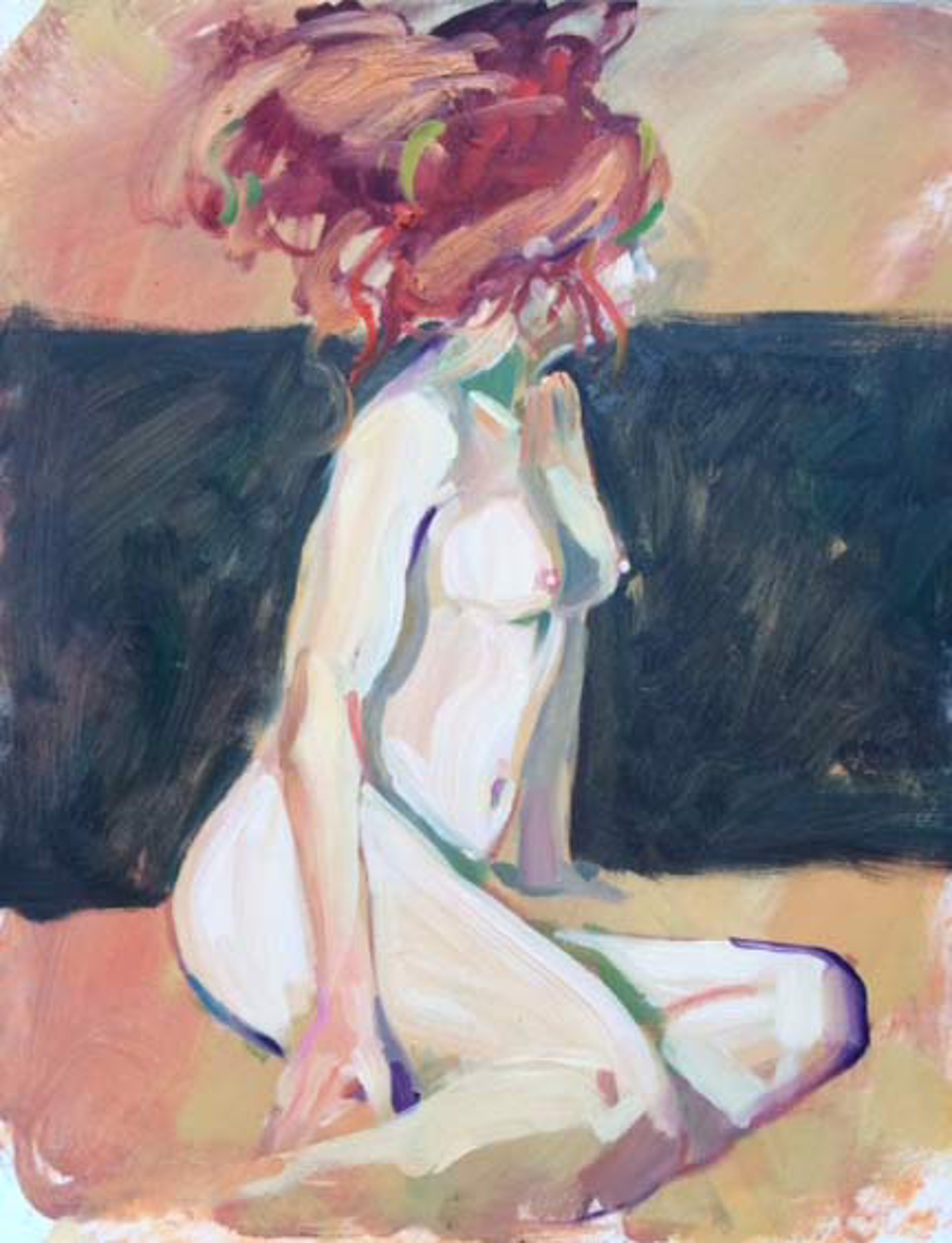Wild Red Hair by Darrell Hill