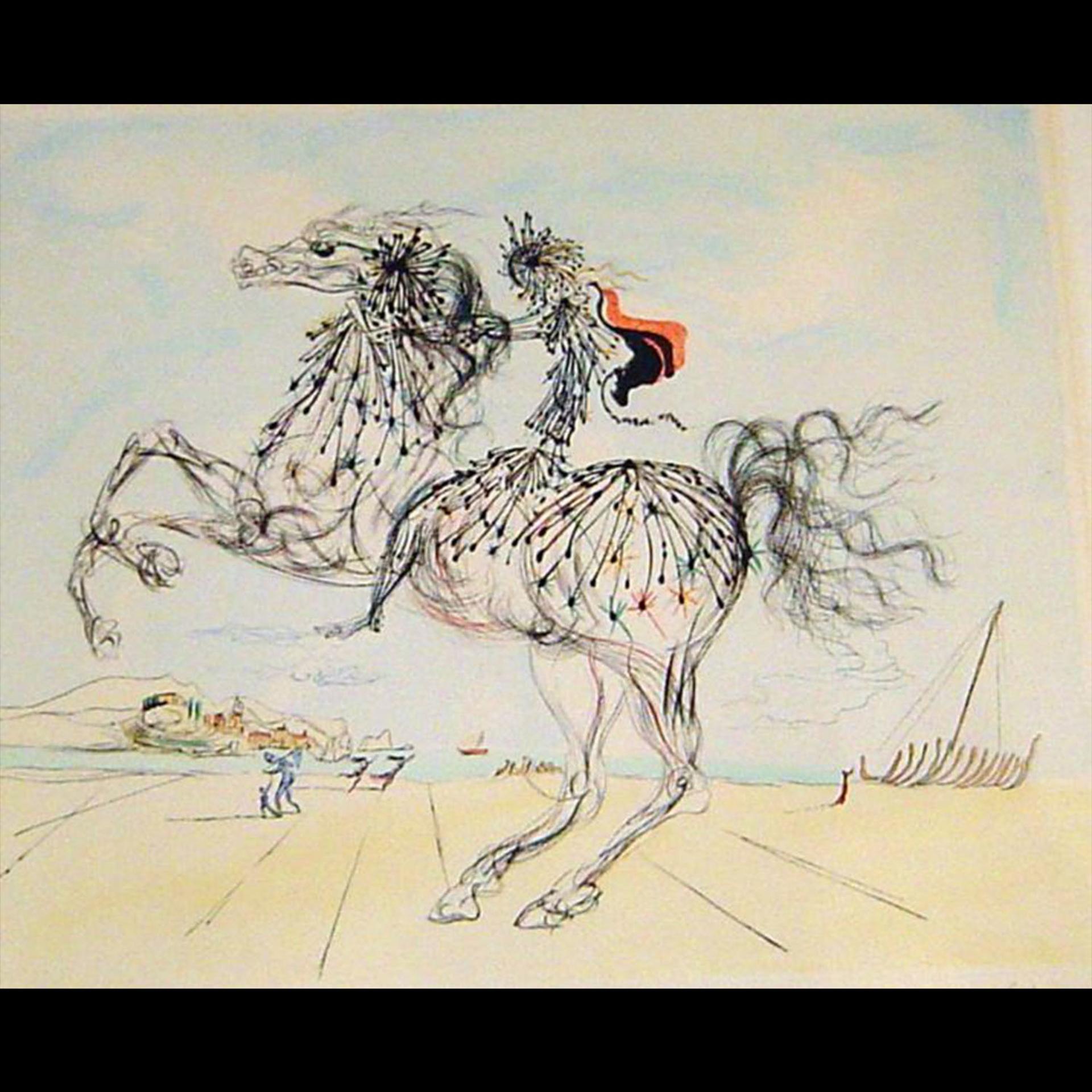 Chevauchee (Transparent Horse) by Salvador Dali