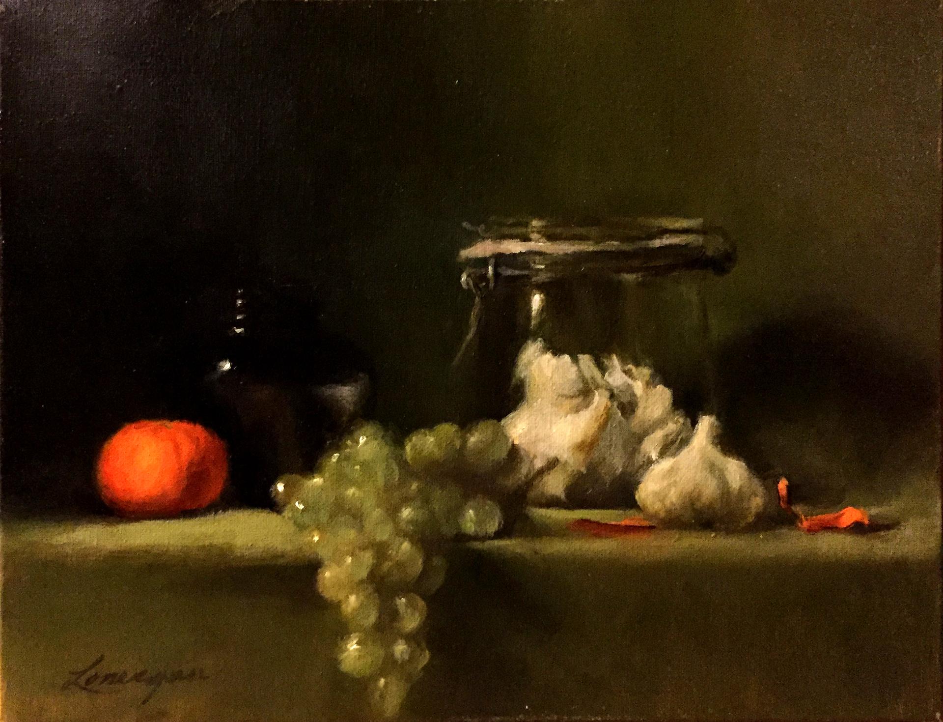 Garlic & Grapes by John Lonergan