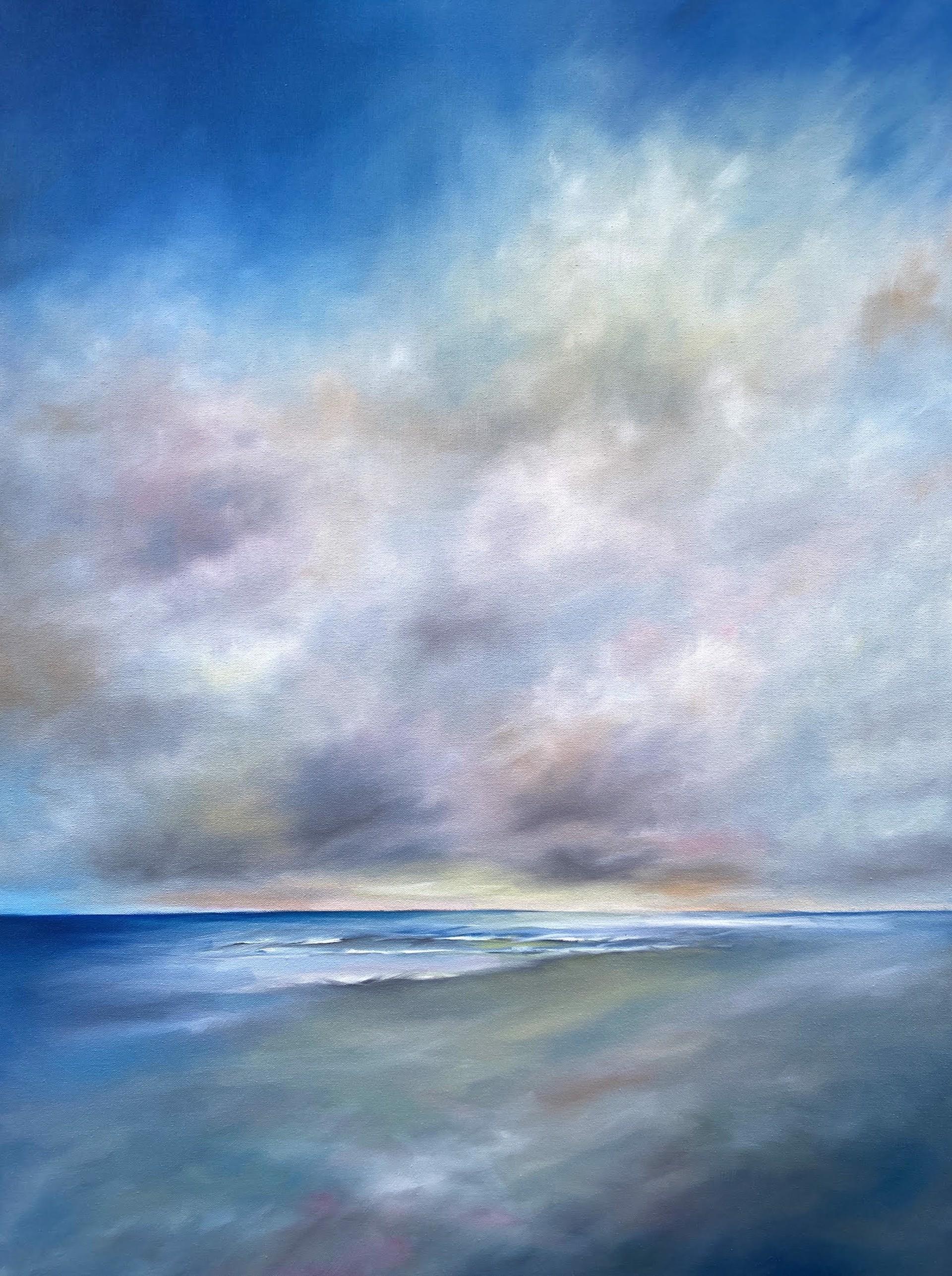 Beach Morning by Nancy Hughes Miller