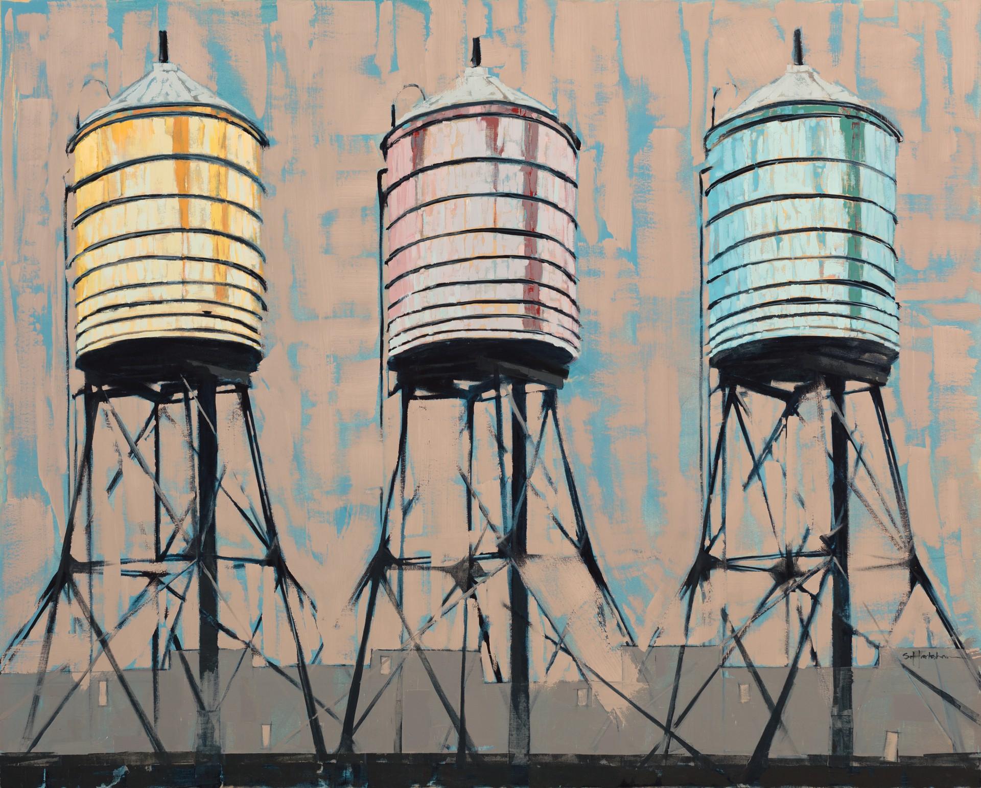 Towers Three by Stephanie Hartshorn