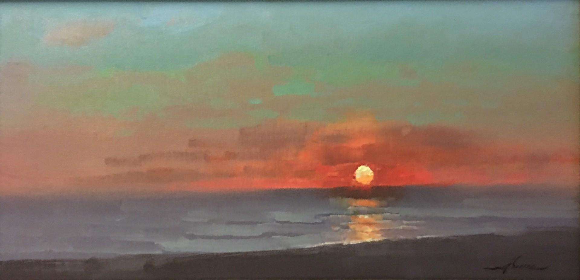 Coastal Sunset by Jason Sacran