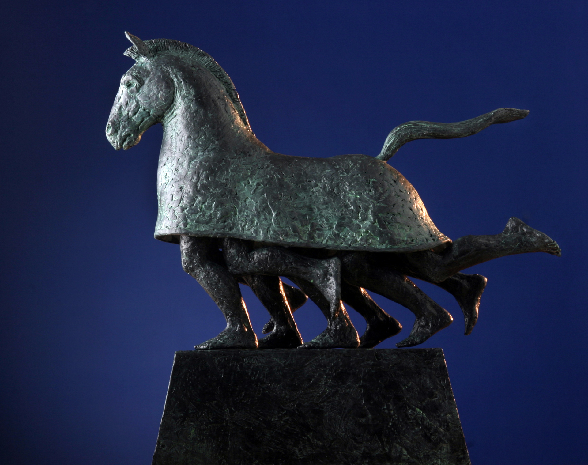 Trojan Horse - Medium (ed. 125) by Bill Starke