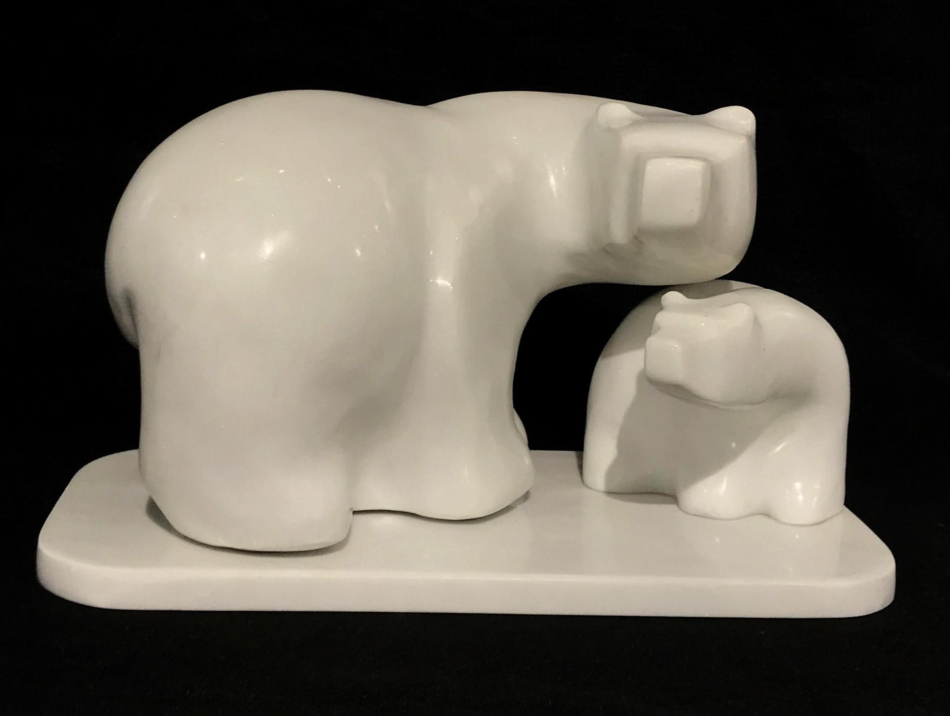 Bear and Cub 76 by Gert Olsen