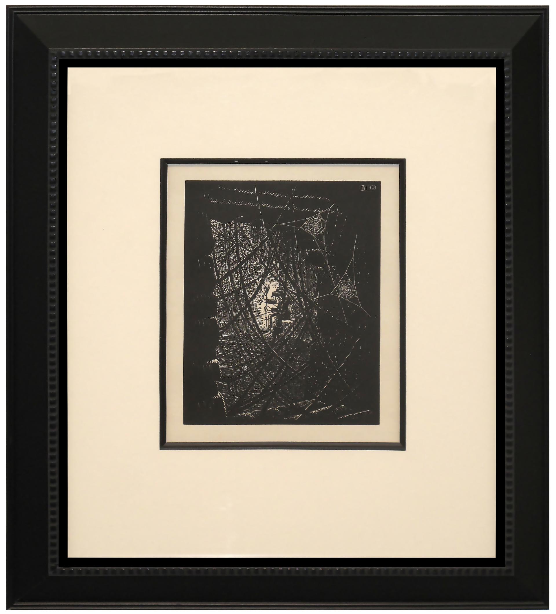 Cobwebs by M.C. Escher