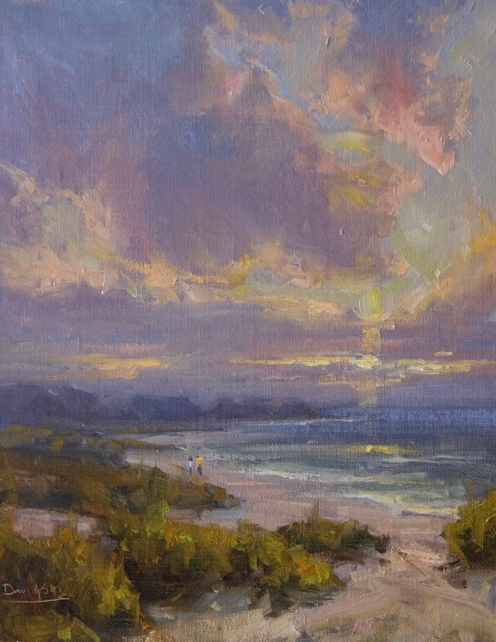 Beach Walk, II by Bill Davidson