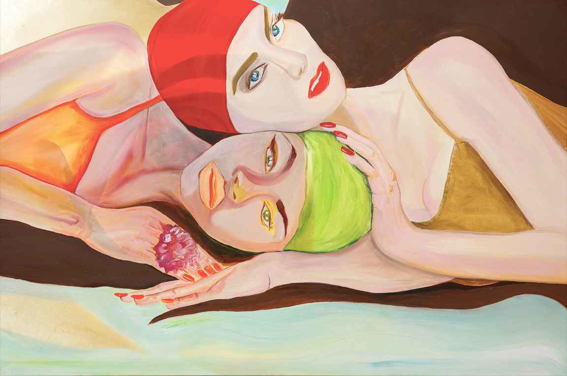 Swimmers by Nicolle Dhimes