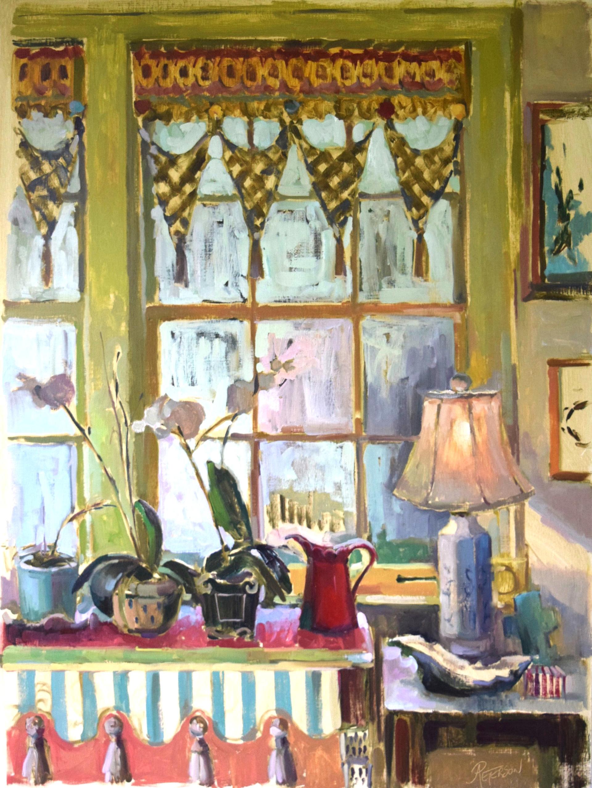 Garden Window II by Amy R. Peterson