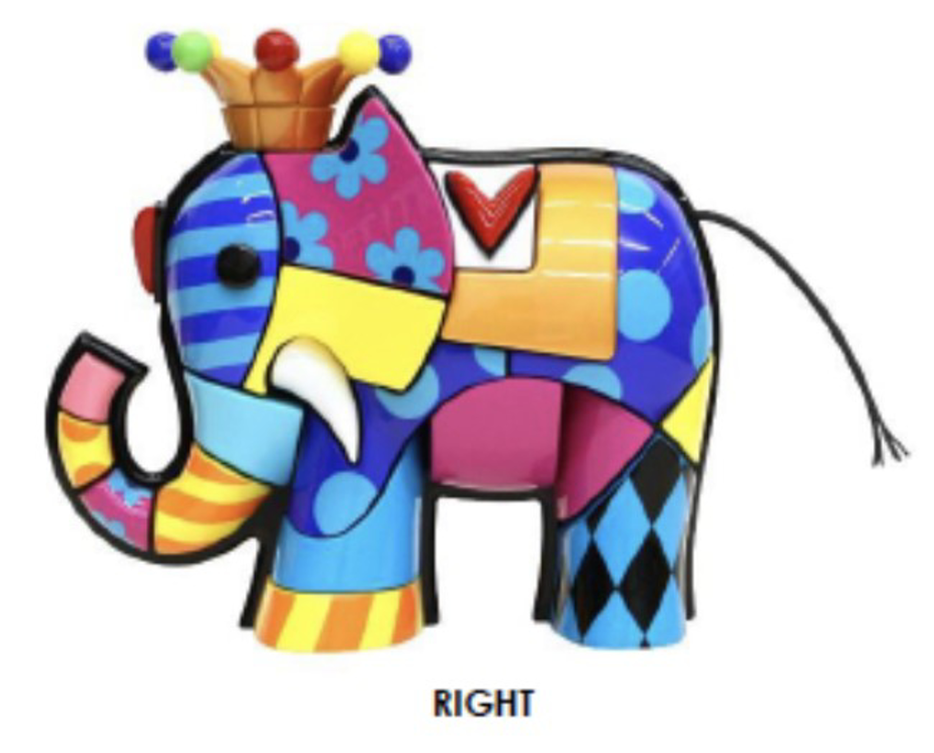 ELEPHANT by Romero Britto