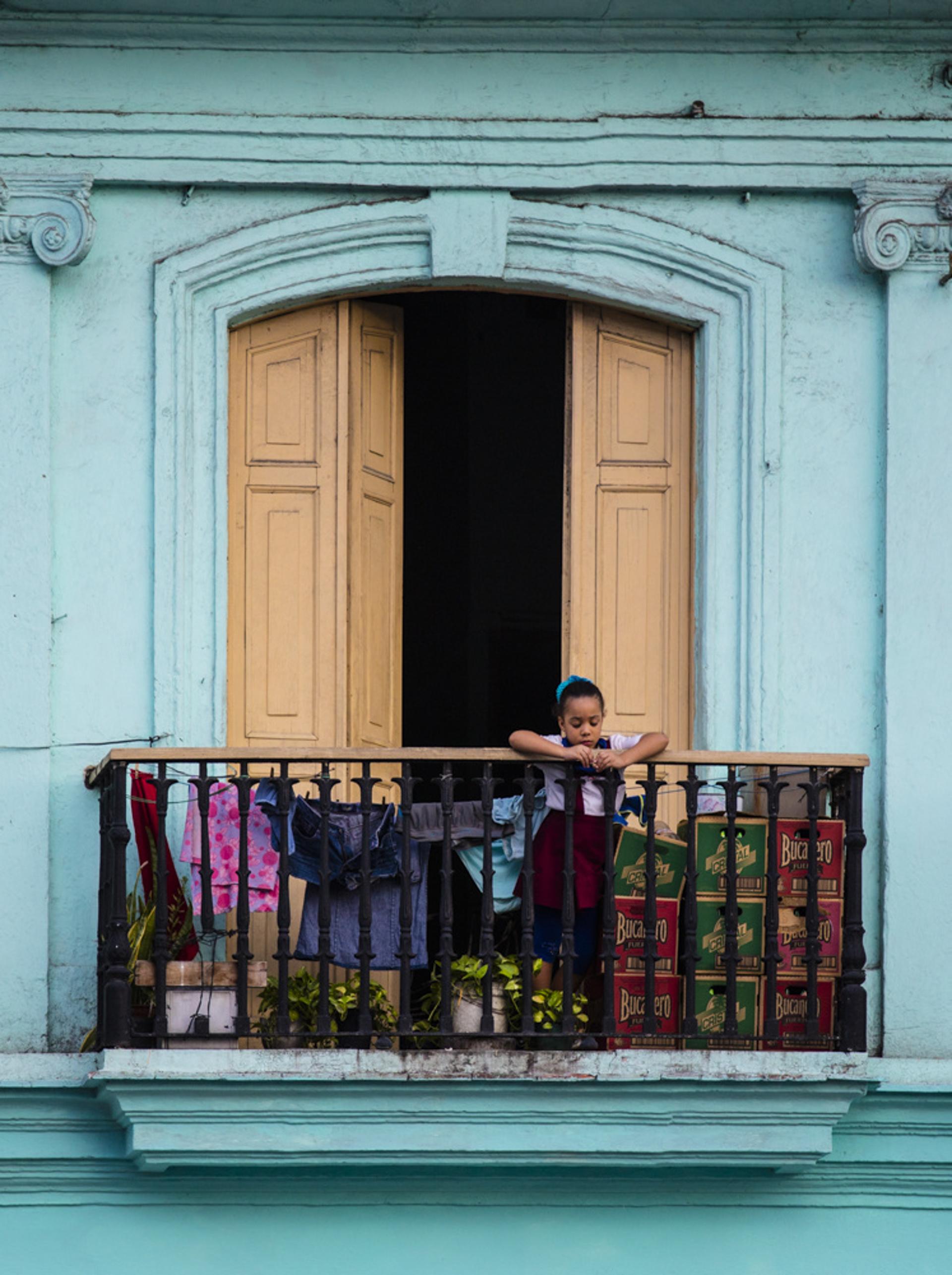 havana balcony by Alex Nyerges