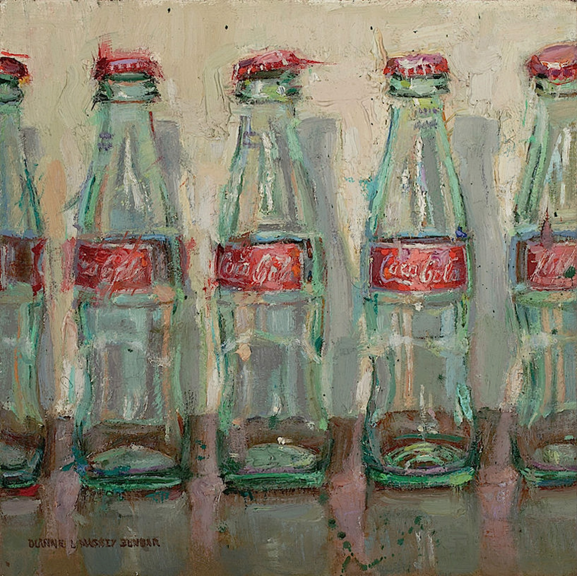 Bottles and Shadows by Dianne L Massey Dunbar