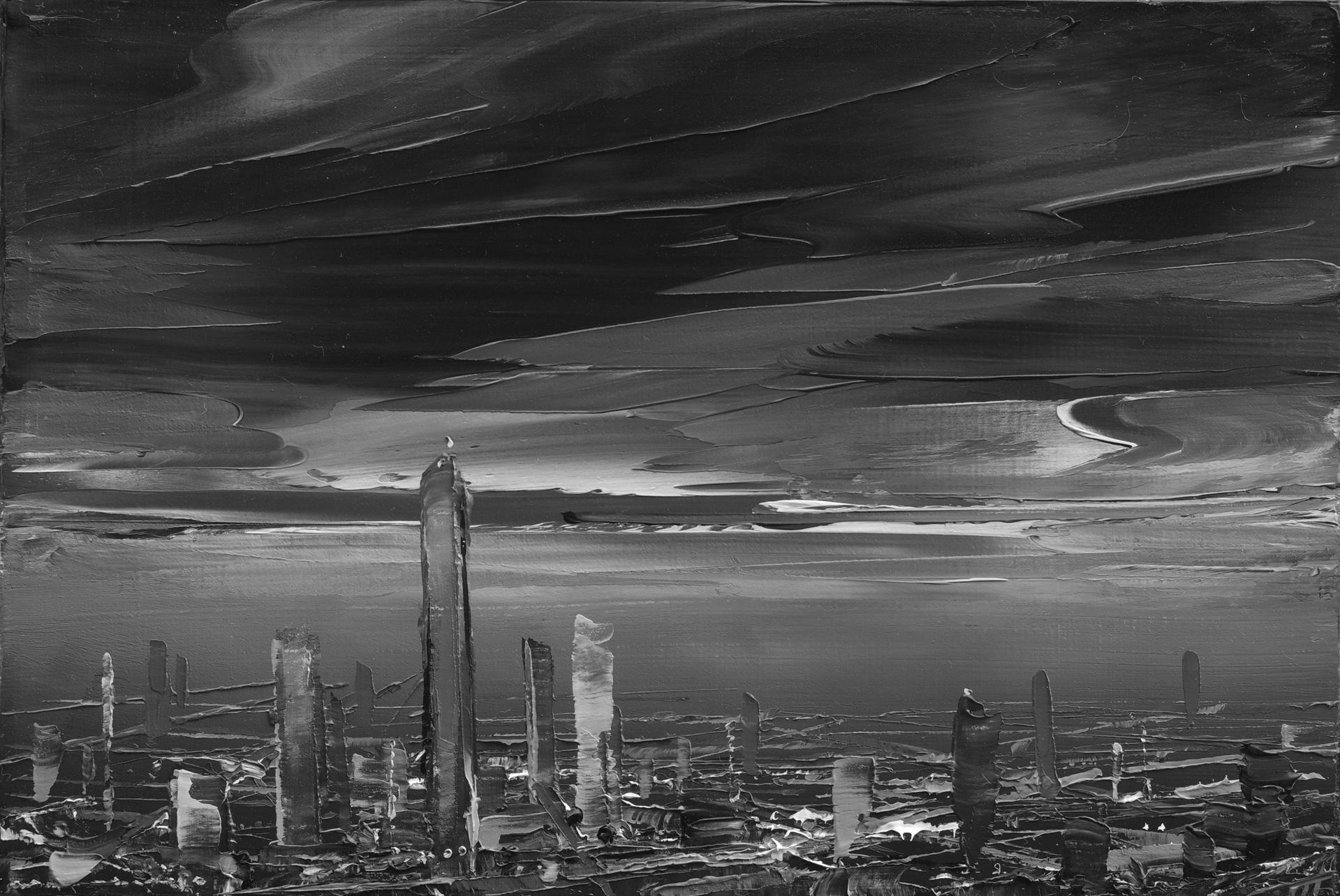 The Sky Cut Through by Todd Carpenter