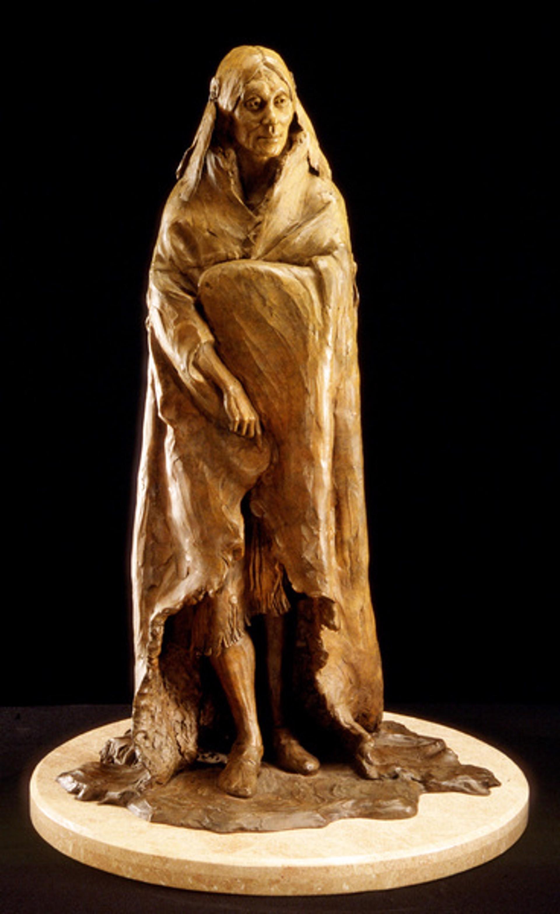 Shoshoni Woman by Barry Eisenach
