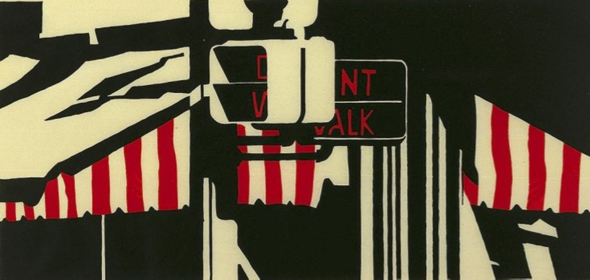 Don't Walk by Robert Cottingham