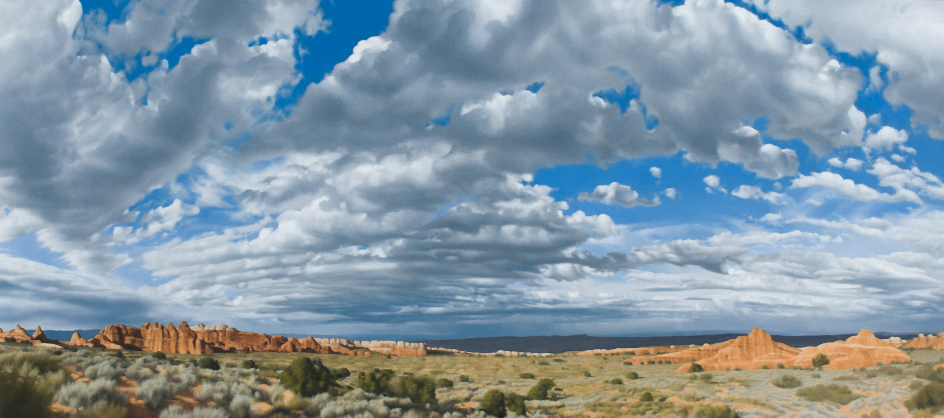 Desert Skyscape I by Patrick Kramer