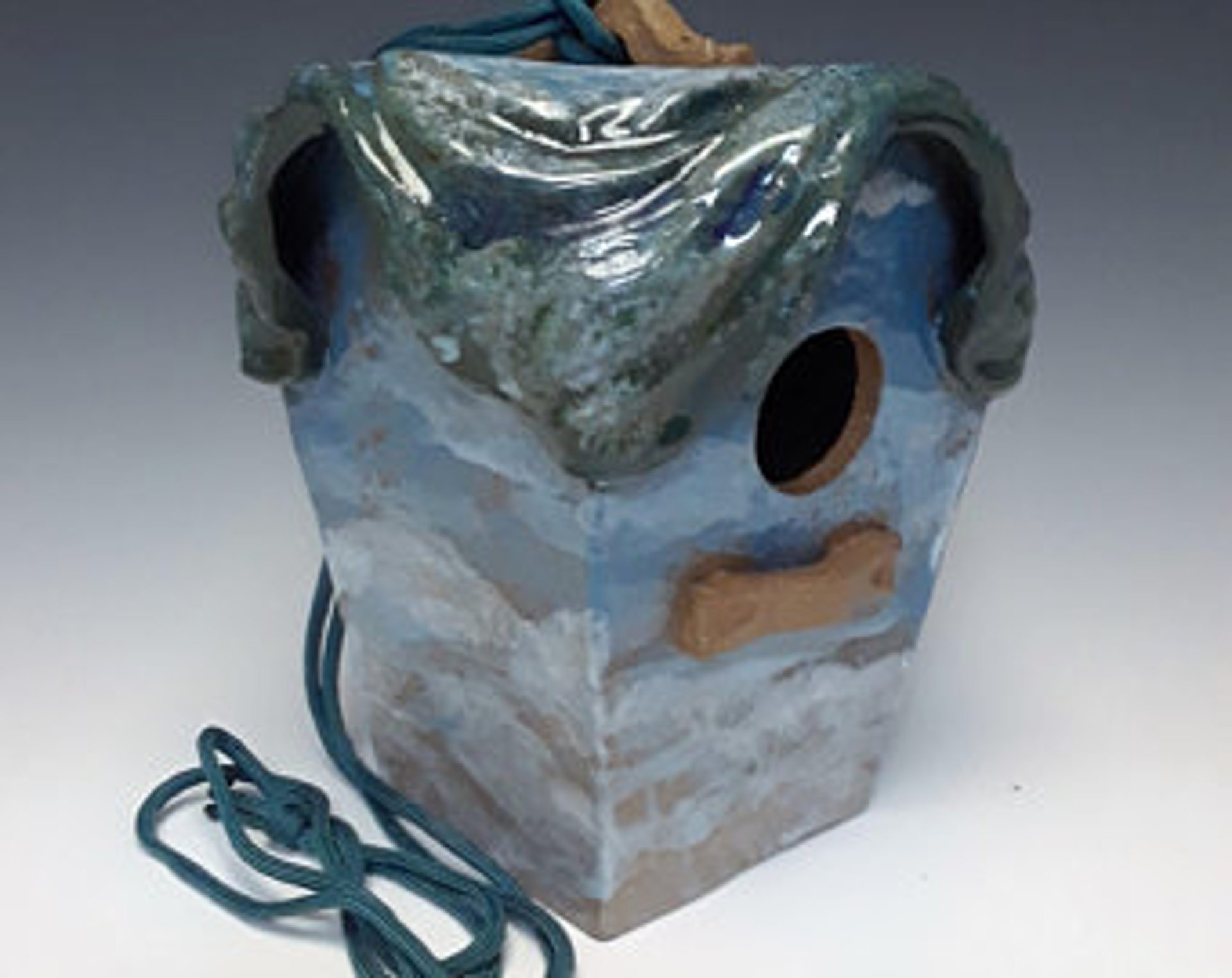 Wren/Chickadee/Finch House-Coastal Carolina by Lin Barnhardt