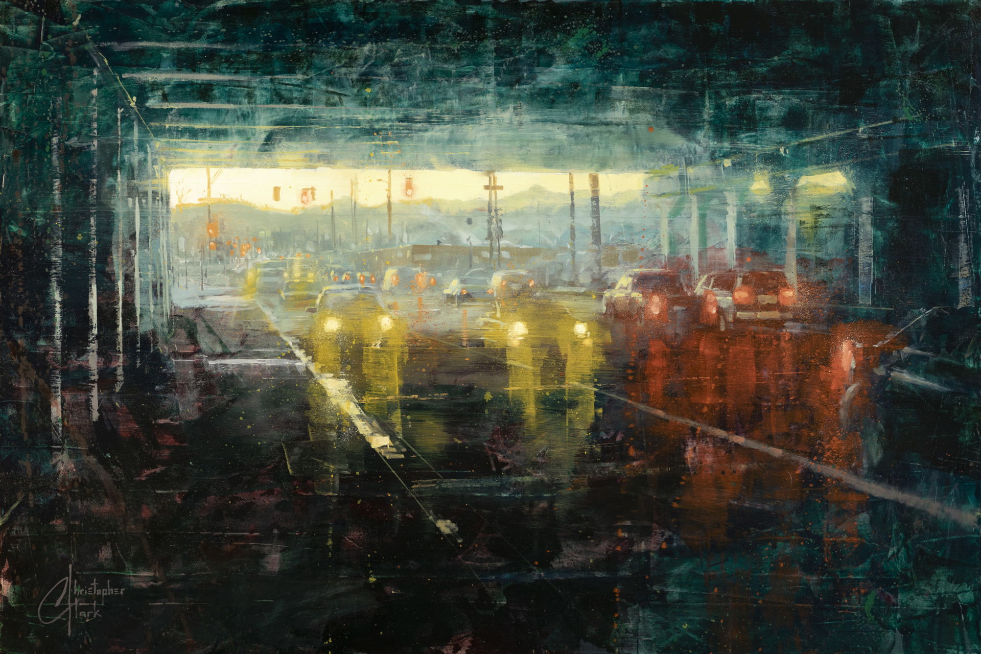 Denver - Under the 8th St Bridge by Christopher Clark