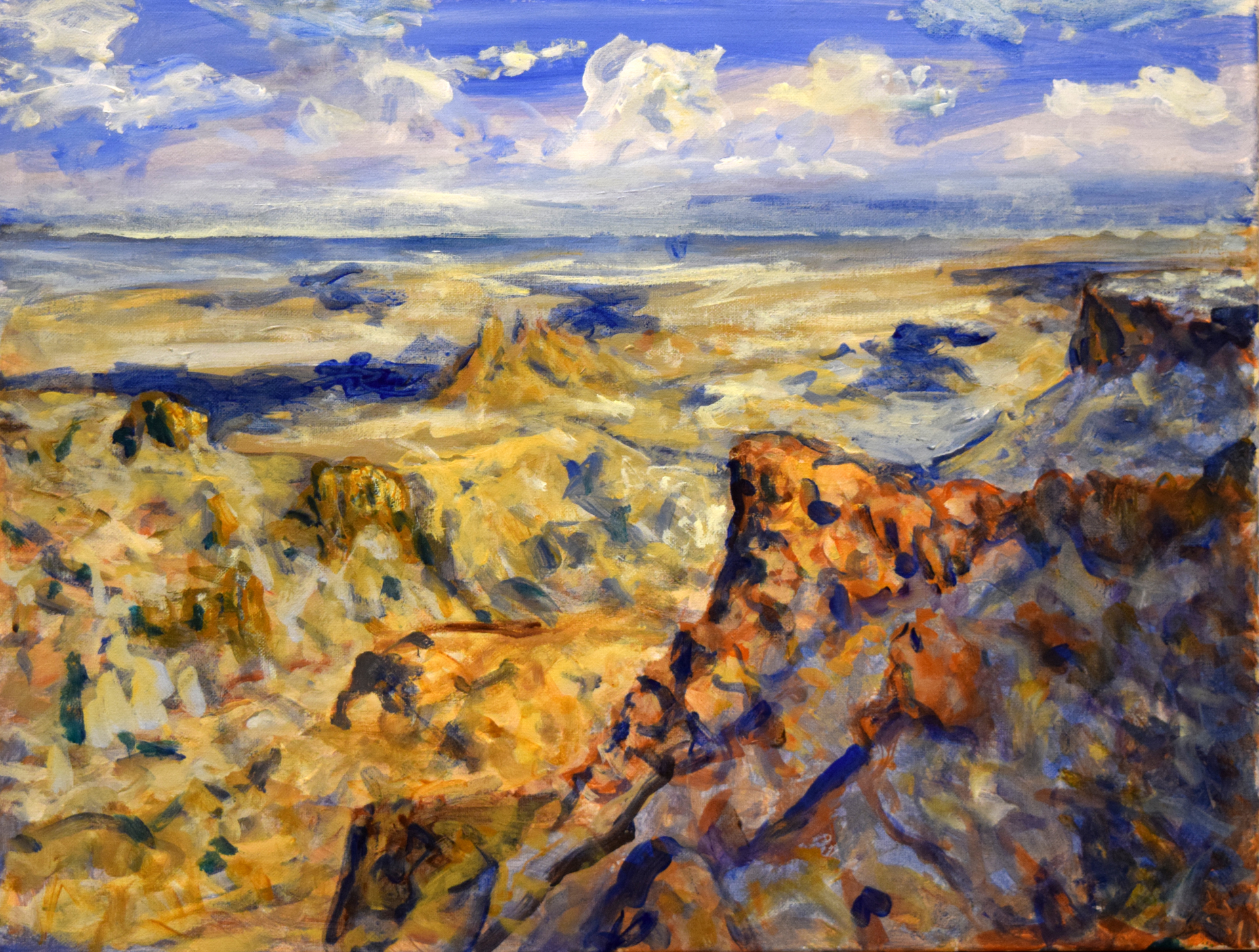 View from the South Rim, Big Bend National Park by Earl Staley