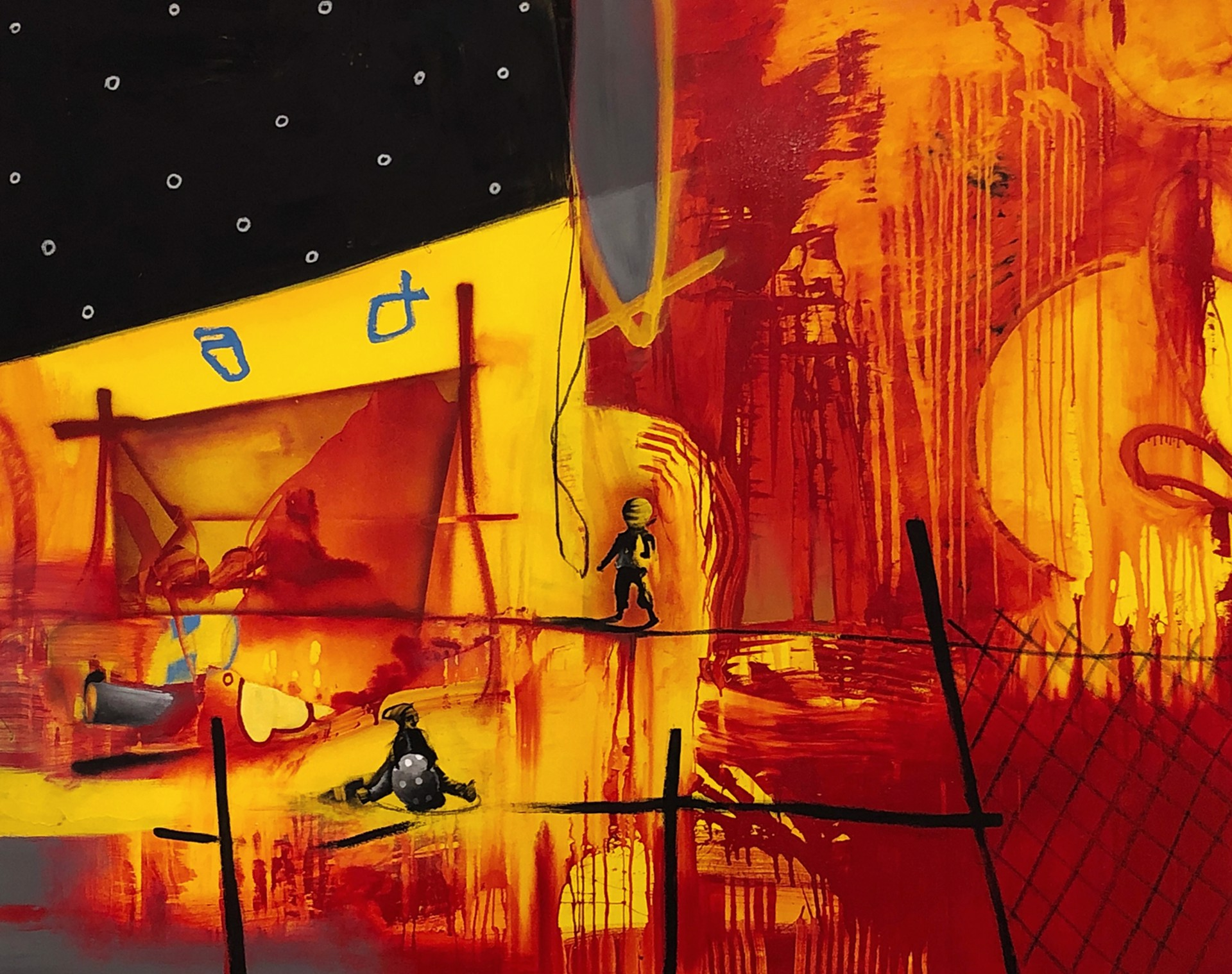 Tent City #6 by Marcus Jansen (b. 1968)