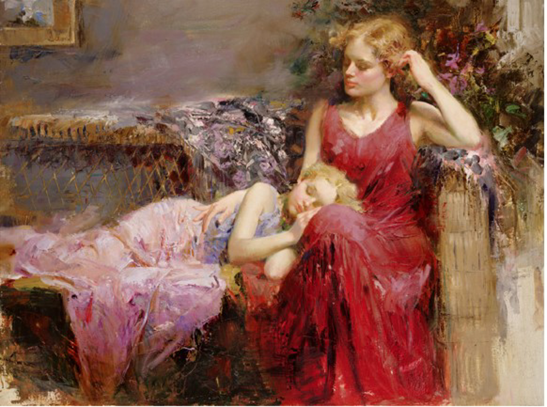 A Mother's Love by Pino