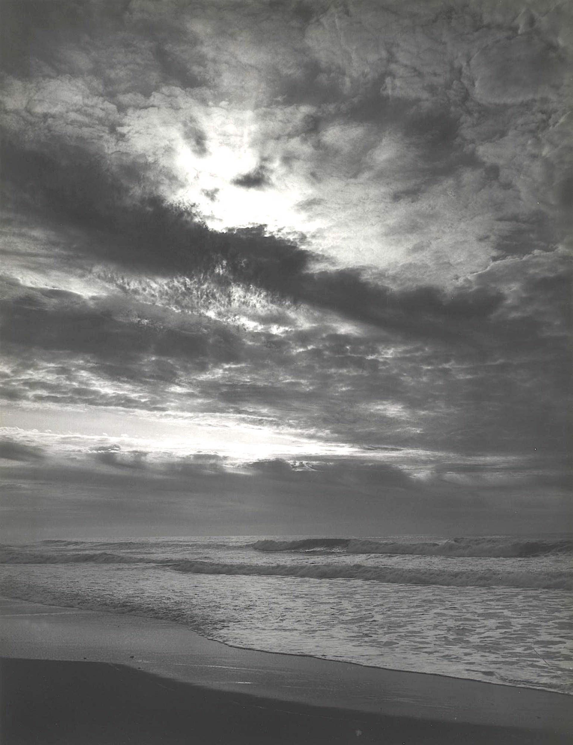 Sunset Prairie Creek Beach Northern California Coast by Ansel Adams