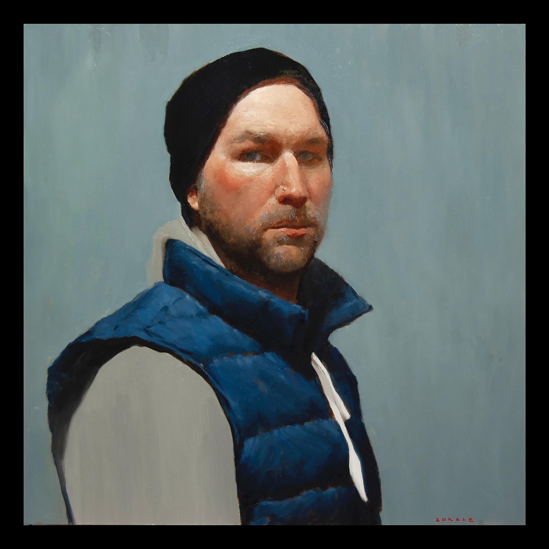 Self Portrait at 43 by Zack Zdrale