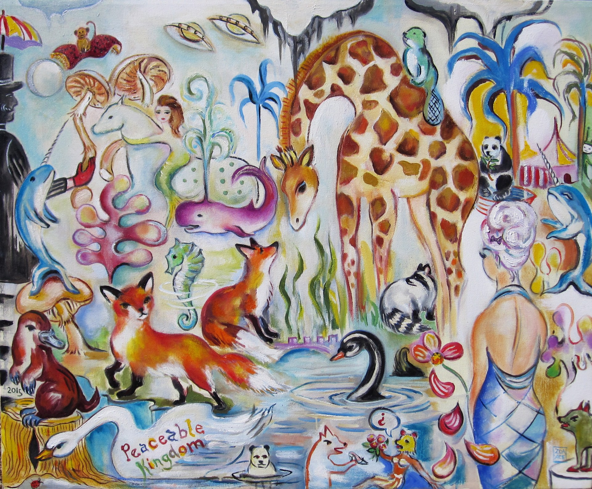 Peaceable Kingdom by Zoa Ace