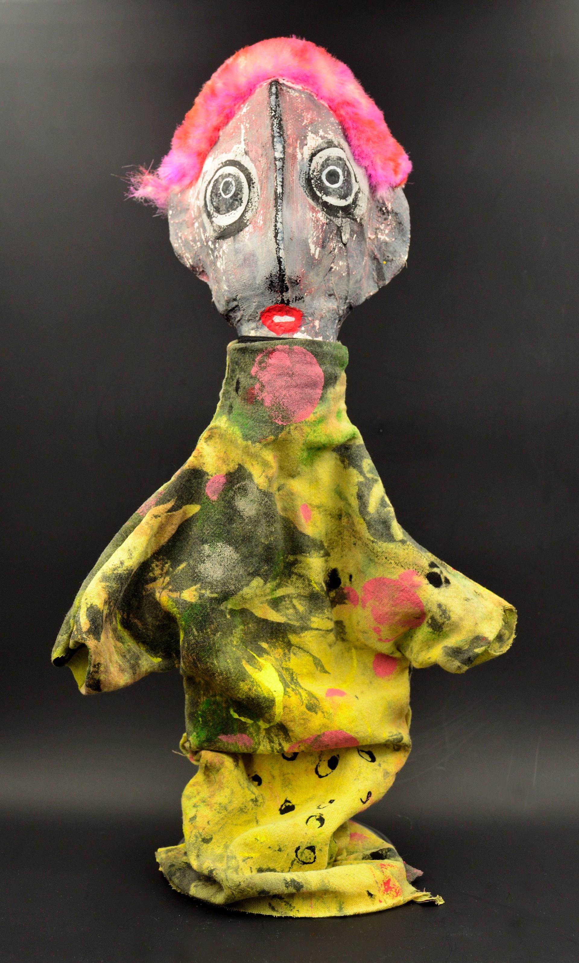 Clown Apocalypse (pink #2) by Laura Castellanos