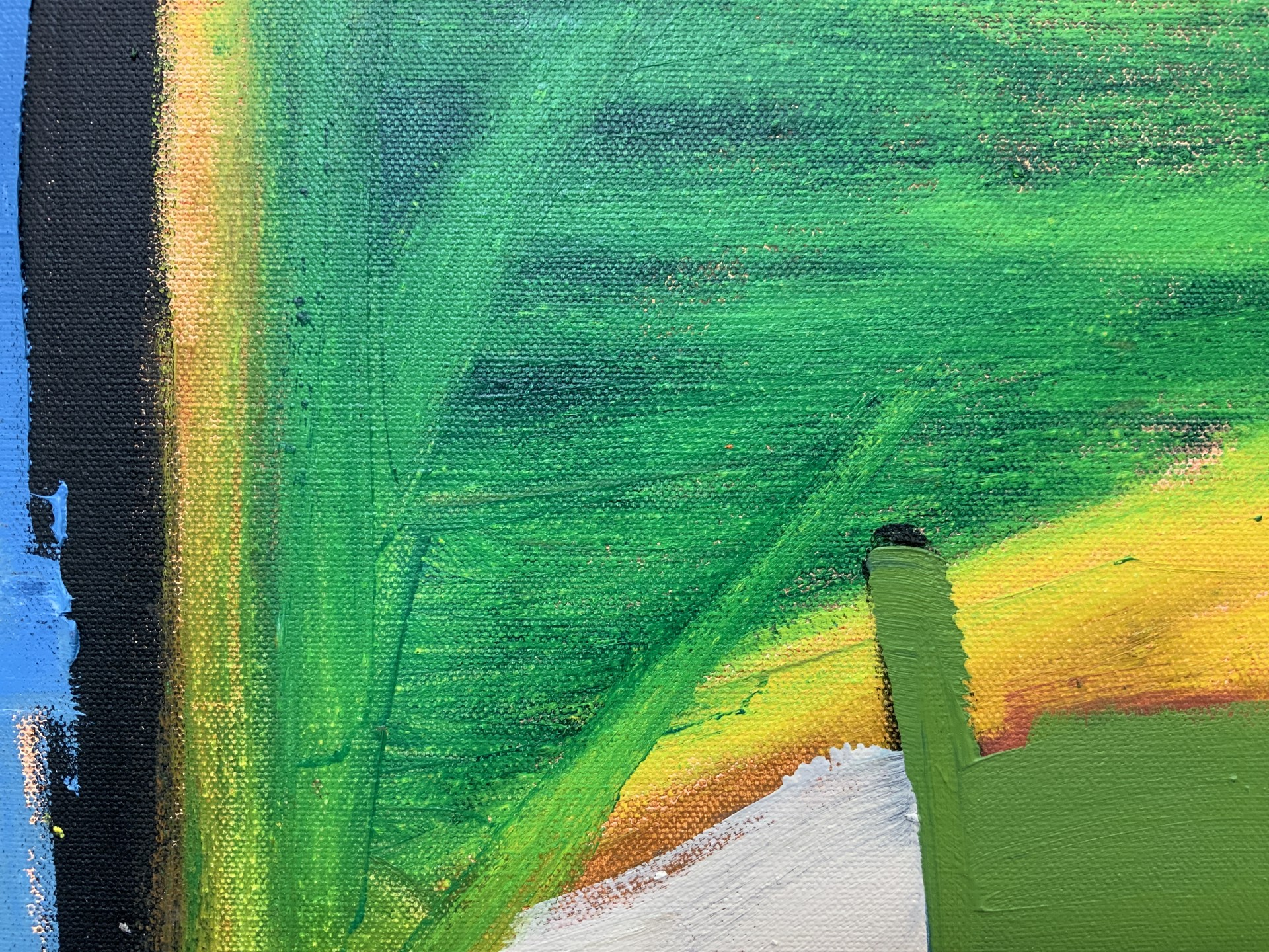 Abstract Landscape from the Air II by Steven Page Prewitt