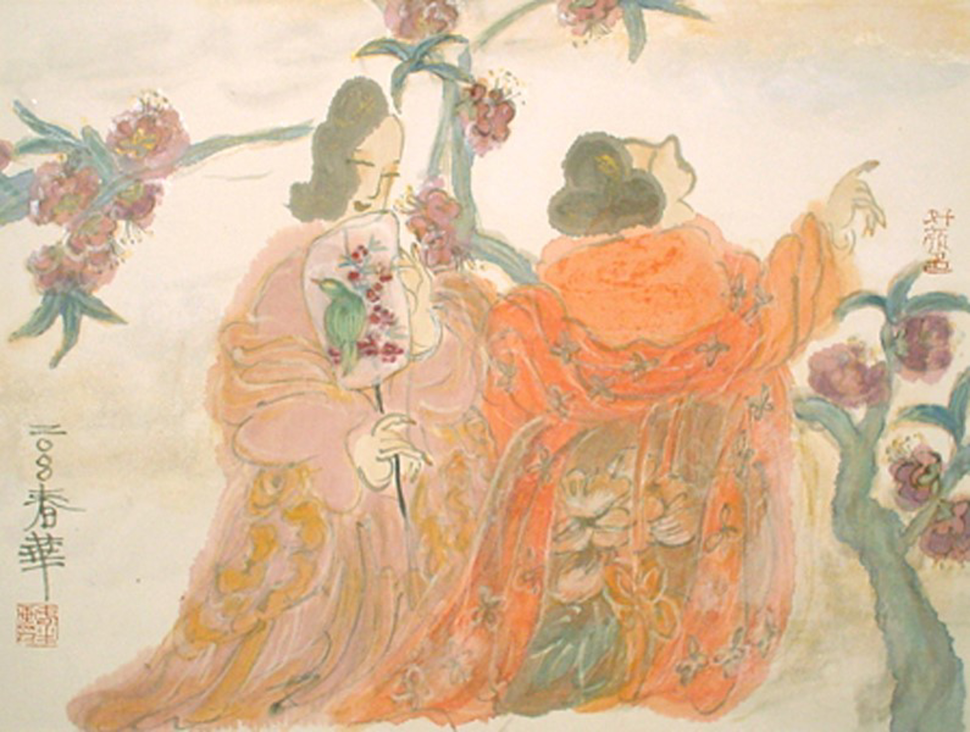 A Moment in a Spring Day #8 by Contemporary Chinese Art