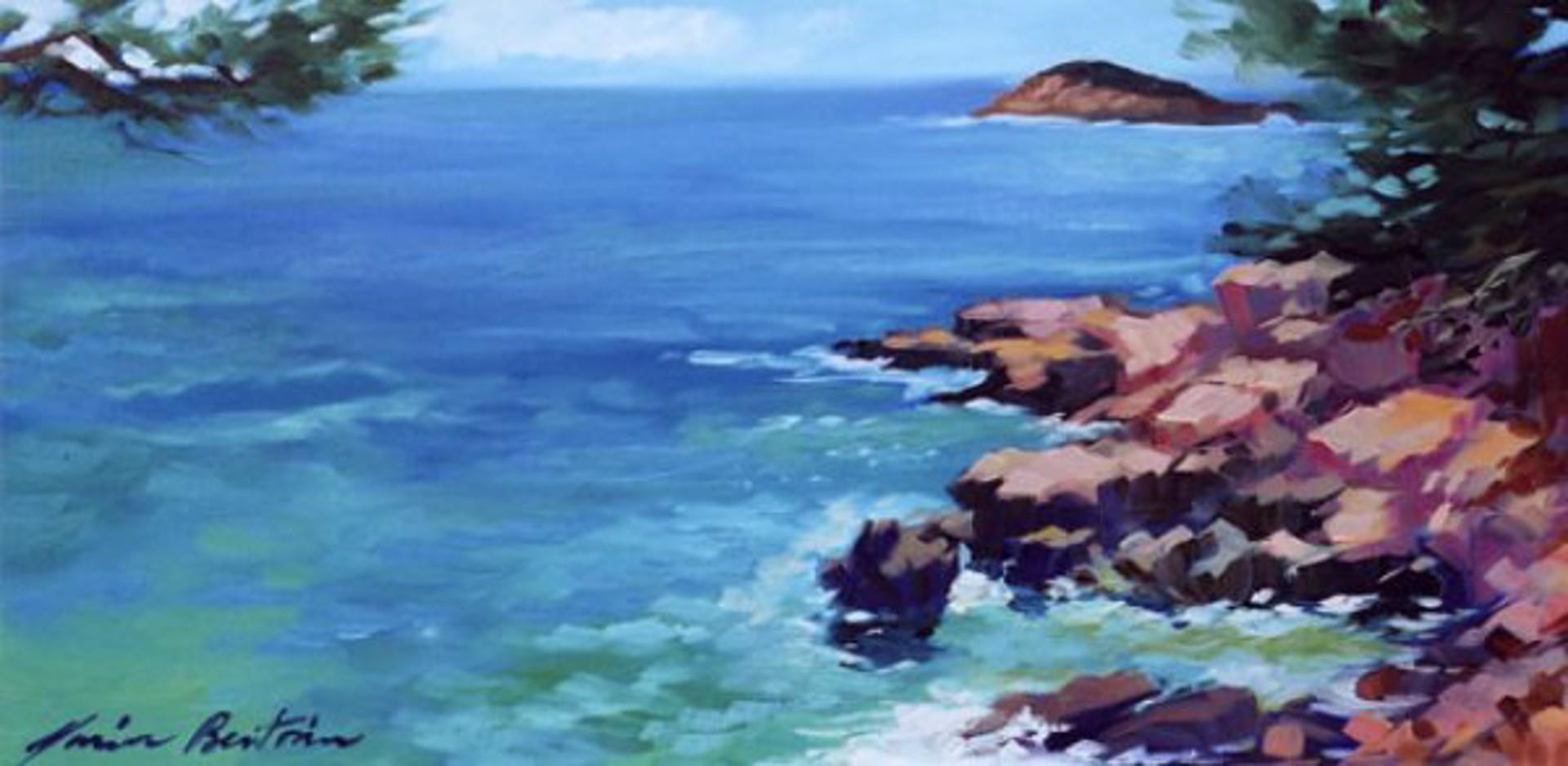 Bertran: Bandol Coastline by Maria Bertrán